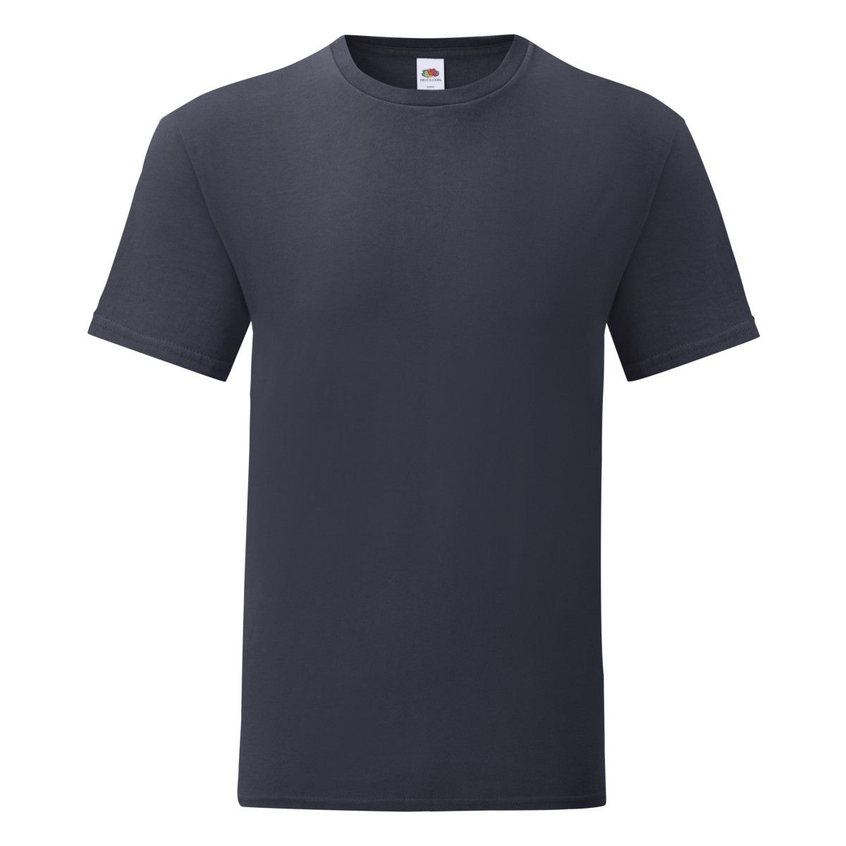 Fruit Of The Loom Mens Iconic T-Shirt (Pack of 5) (Deep Navy)