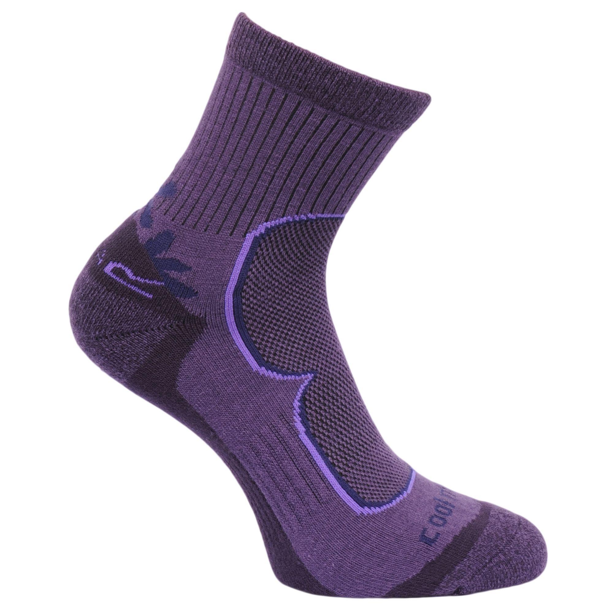 Regatta Great Outdoors Womens/Ladies Active Lifestyle Walking Socks (2 Pack)
