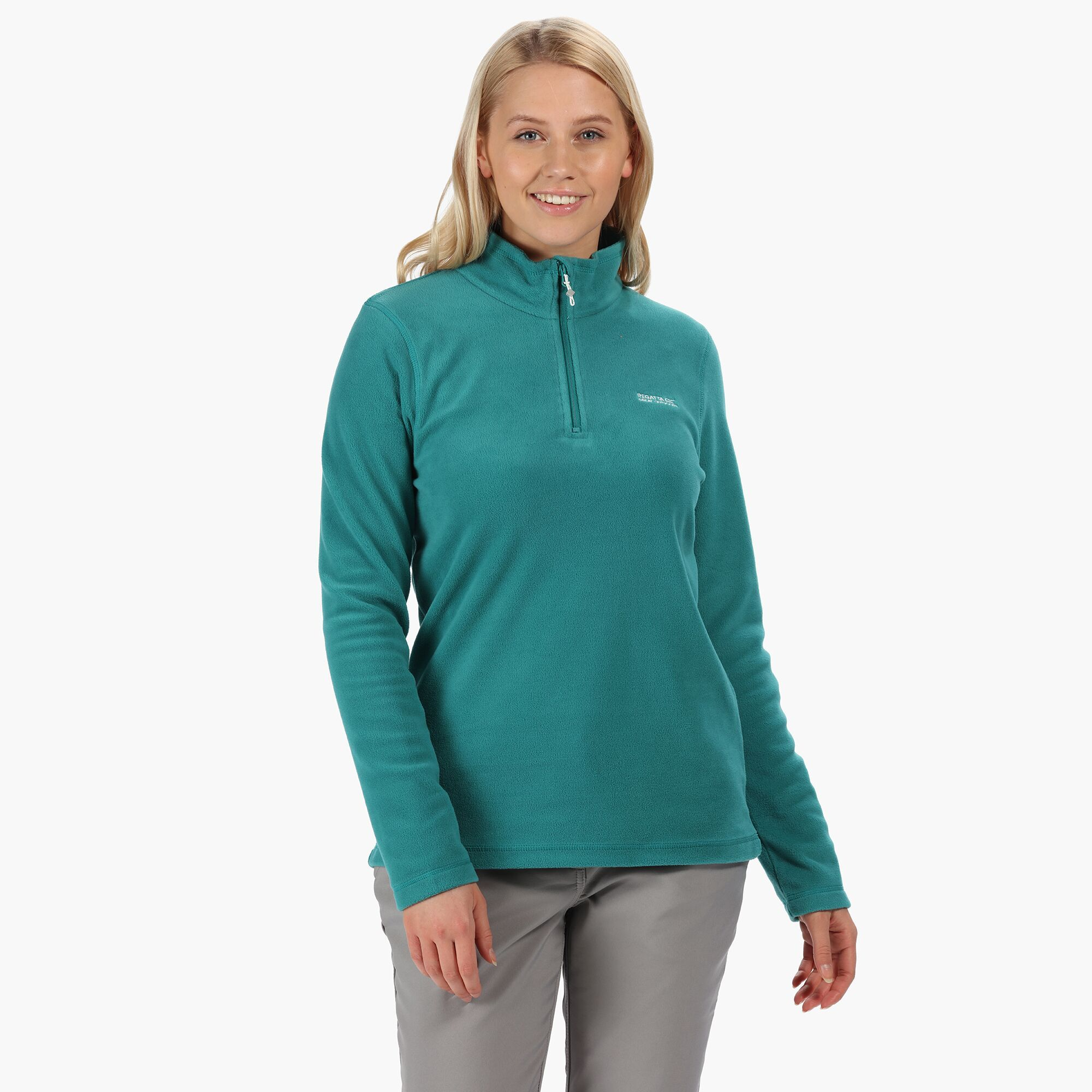 Regatta Great Outdoors Womens/Ladies Sweetheart 1/4 Zip Fleece Top