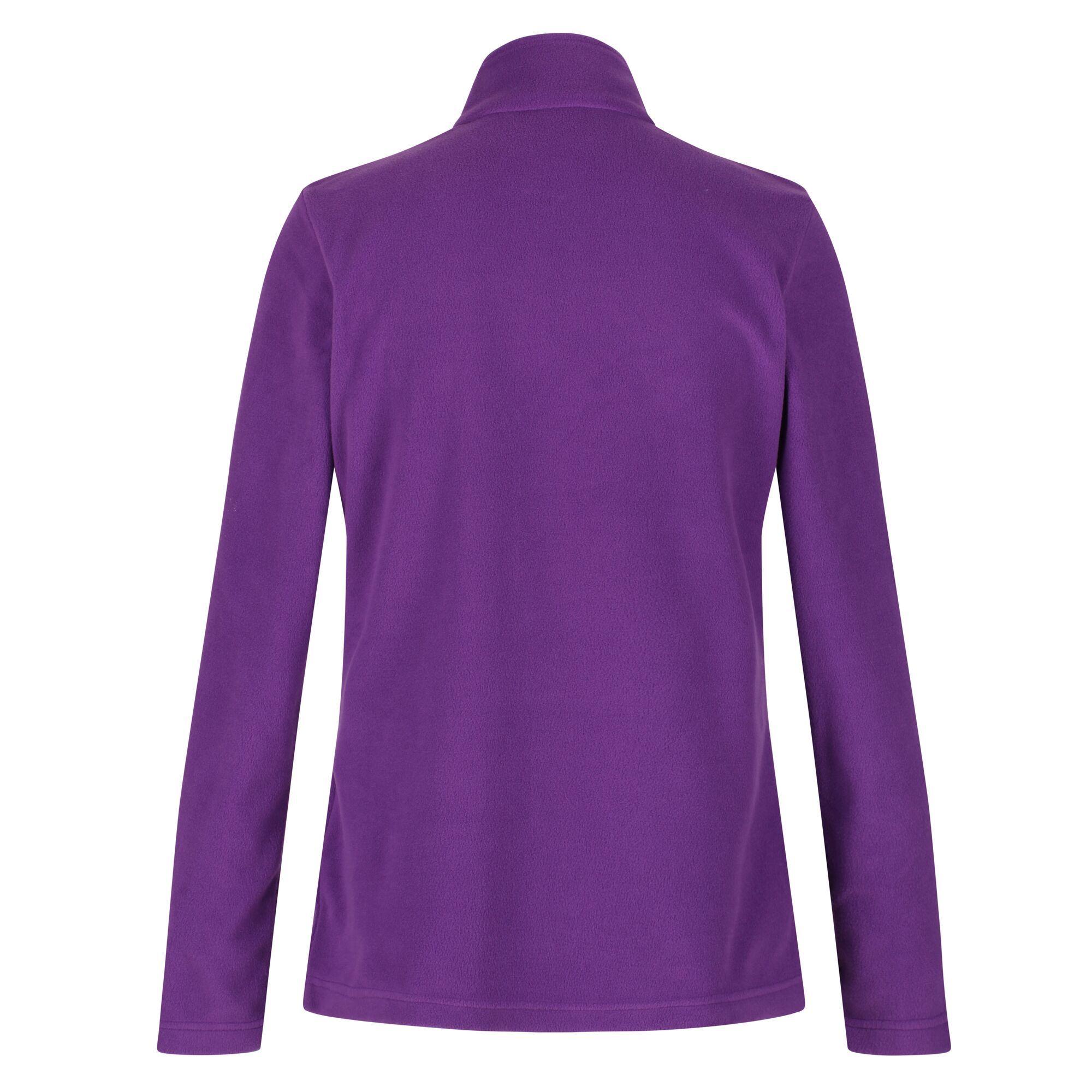 Regatta Great Outdoors Womens/Ladies Sweetheart 1/4 Zip Fleece Top (Plum Wine)