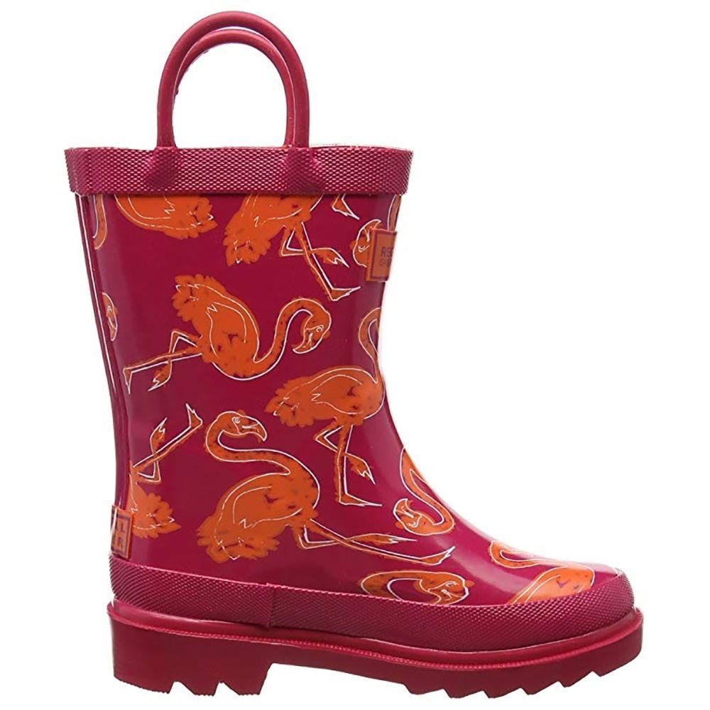 Regatta Great Outdoors Childrens/Kids Minnow Patterned Wellington Boots