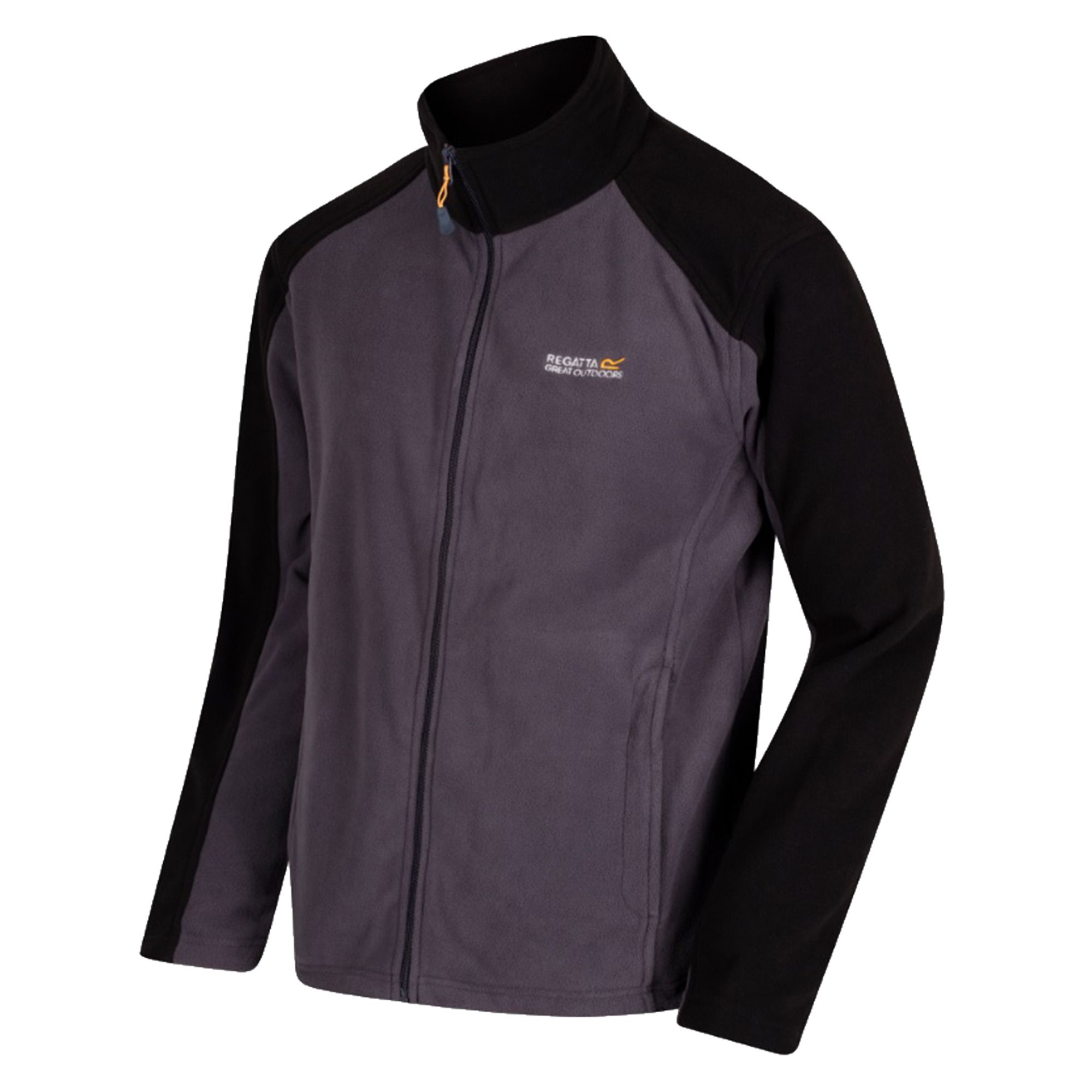 Regatta Great Outdoors Mens Hedman II Two Tone Full Zip Fleece Jacket
