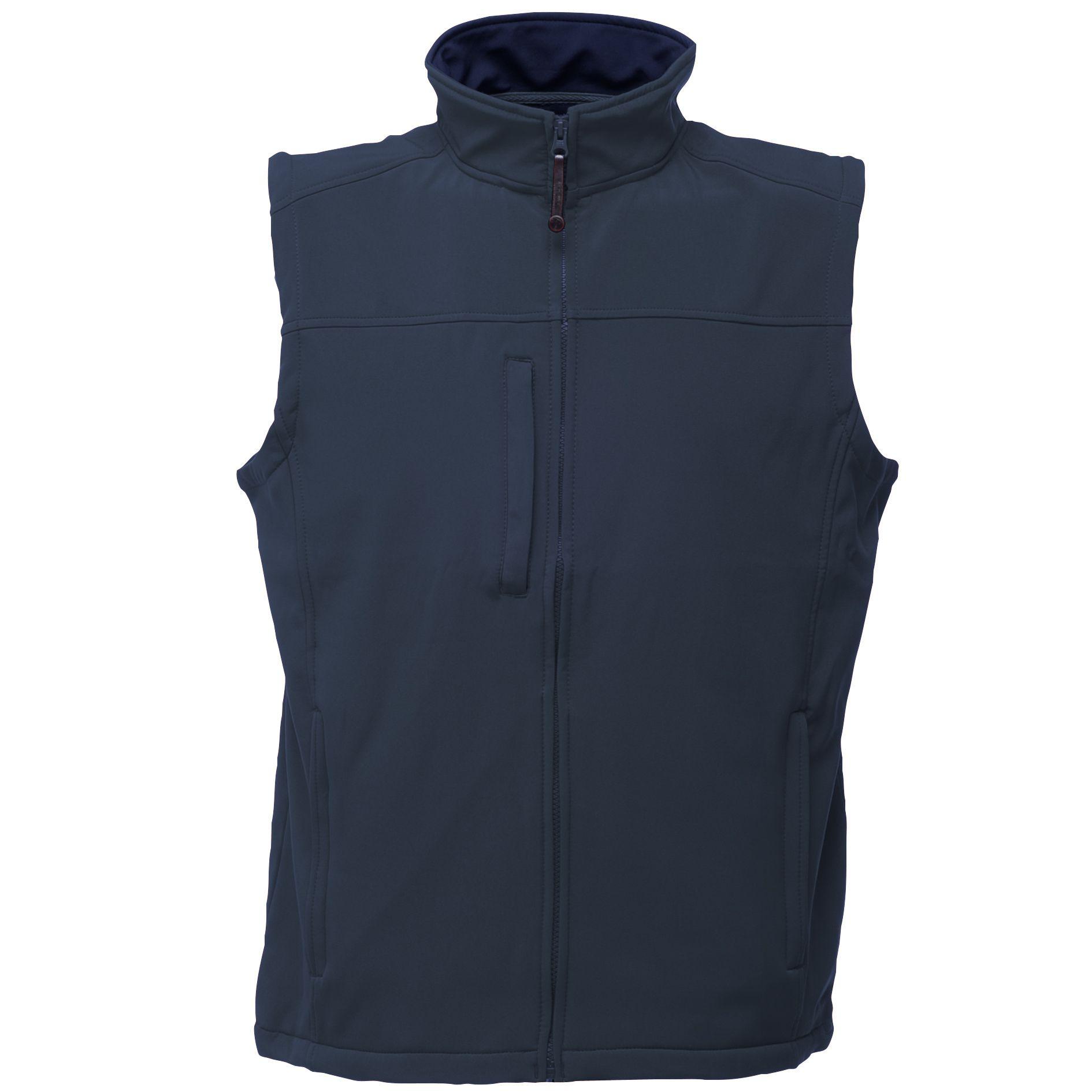 Regatta Mens Flux Softshell Bodywarmer / Sleeveless Jacket Water Repellent And Wind Resistant