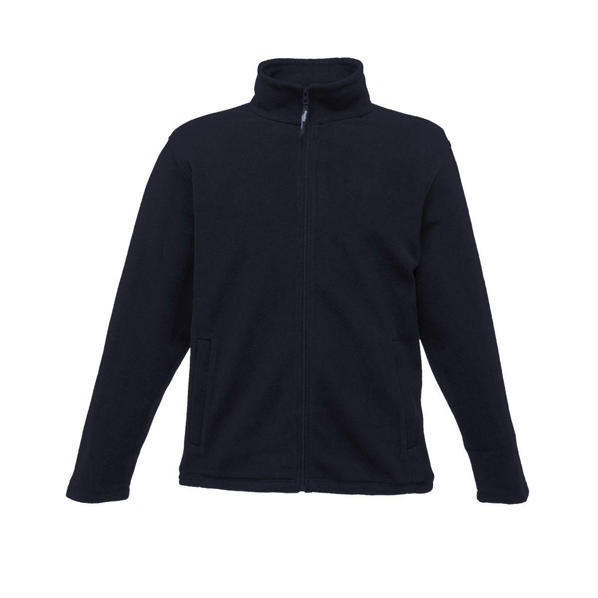 Regatta Mens Plain Micro Fleece Full Zip Jacket (Layer Lite)