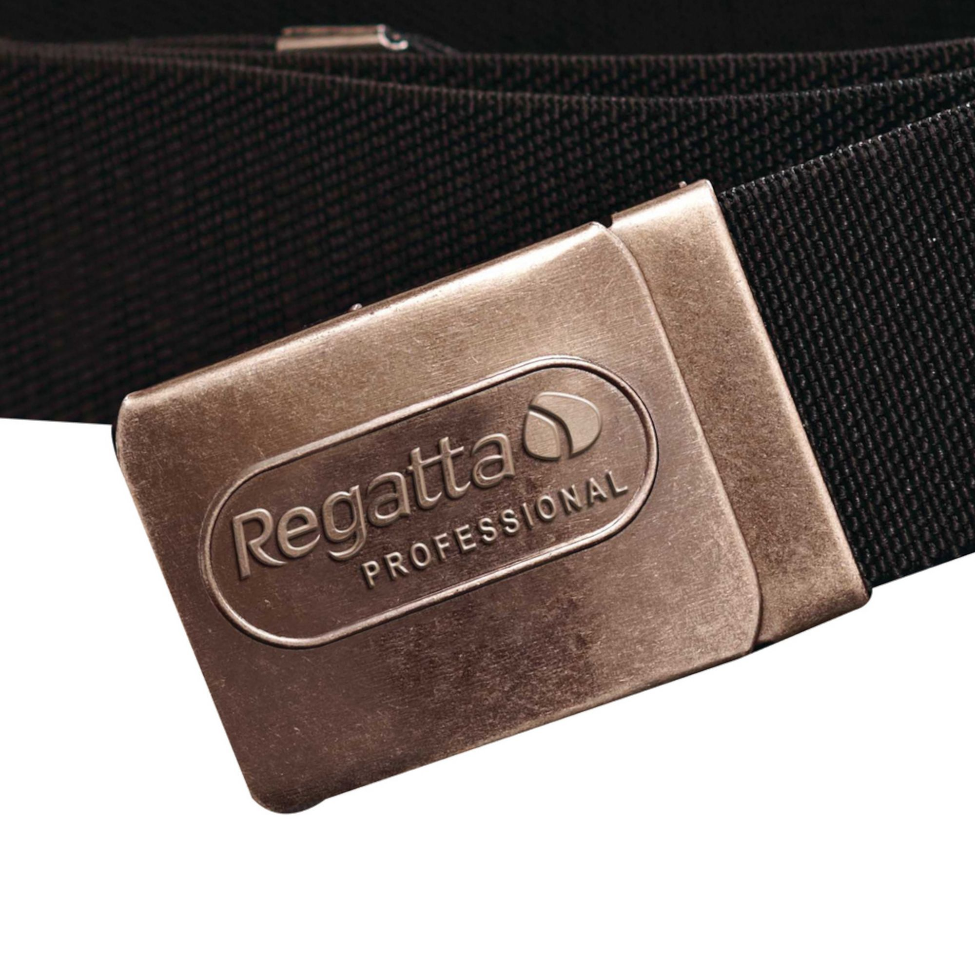 Regatta Mens Premium Workwear Belt With Stretch (Black)