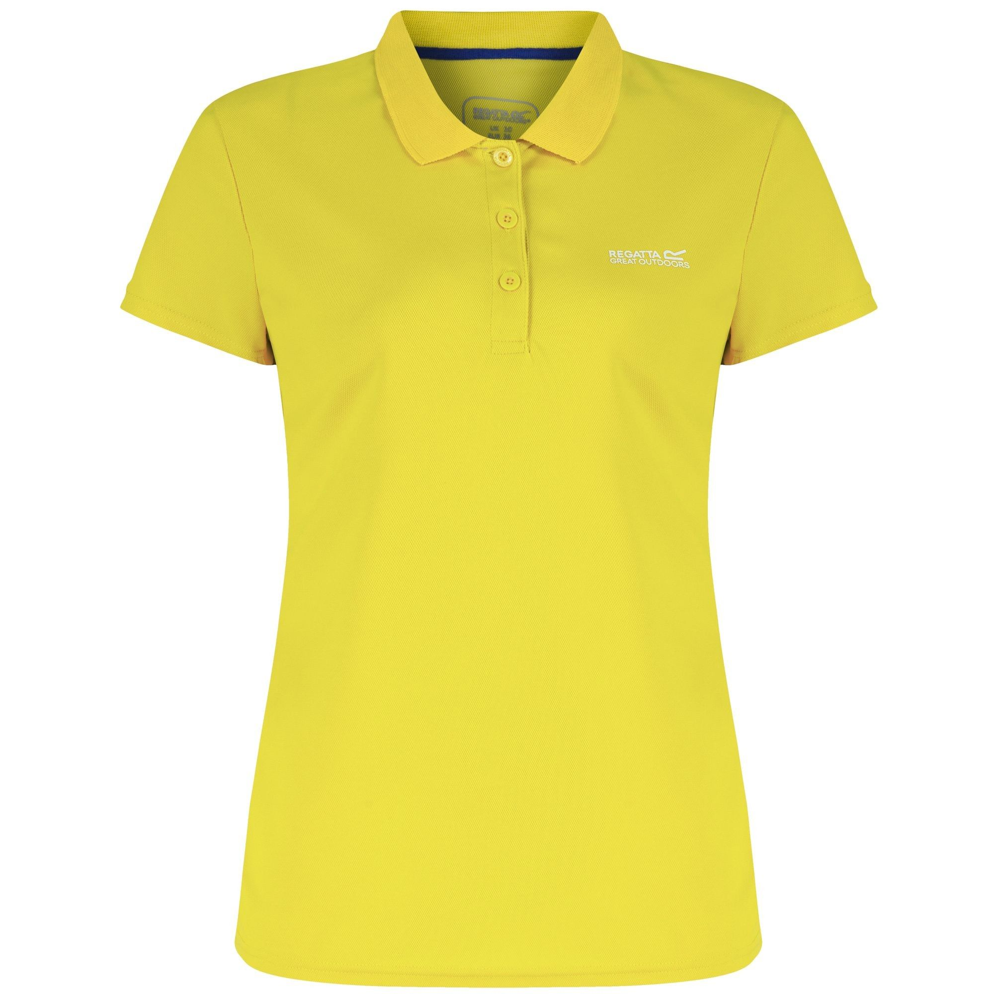 Regatta Great Outdoors Womens/Ladies Maverik III Short Sleeve Polo Shirt
