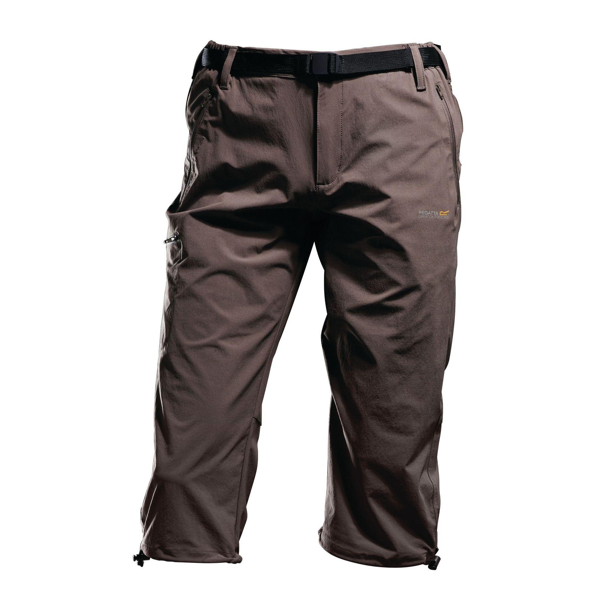 Regatta Great Outdoors Mens XERT Stretch Capris II Lightweight 3/4 Trousers