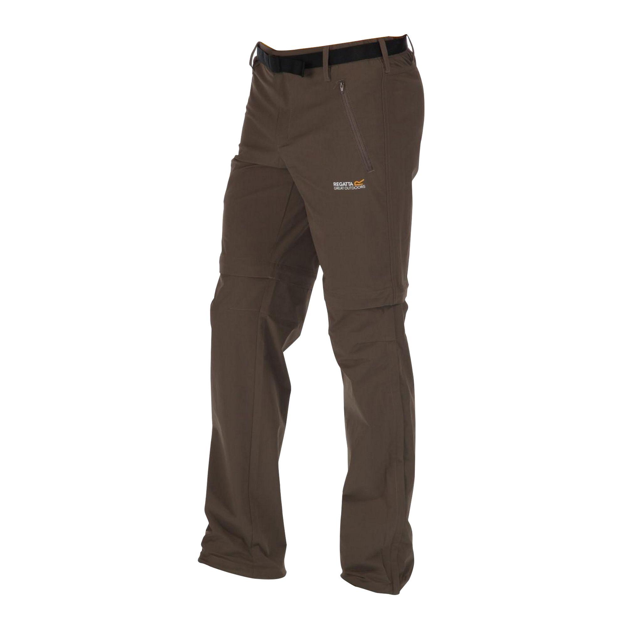Regatta Great Outdoors Mens Xert Stretch Zip Off Trousers II