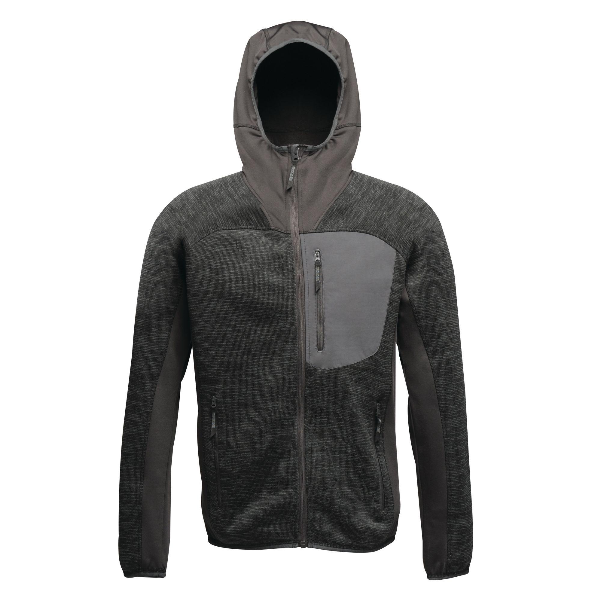 Regatta X-Pro Mens Coldspring Hybrid Hooded Fleece Jacket