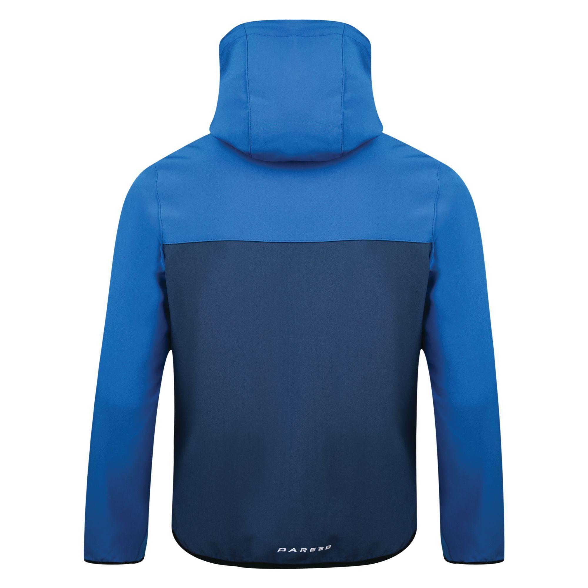 Dare 2b Mens Devise Softshell Jacket (Admiral Blue/Oxford Blue)