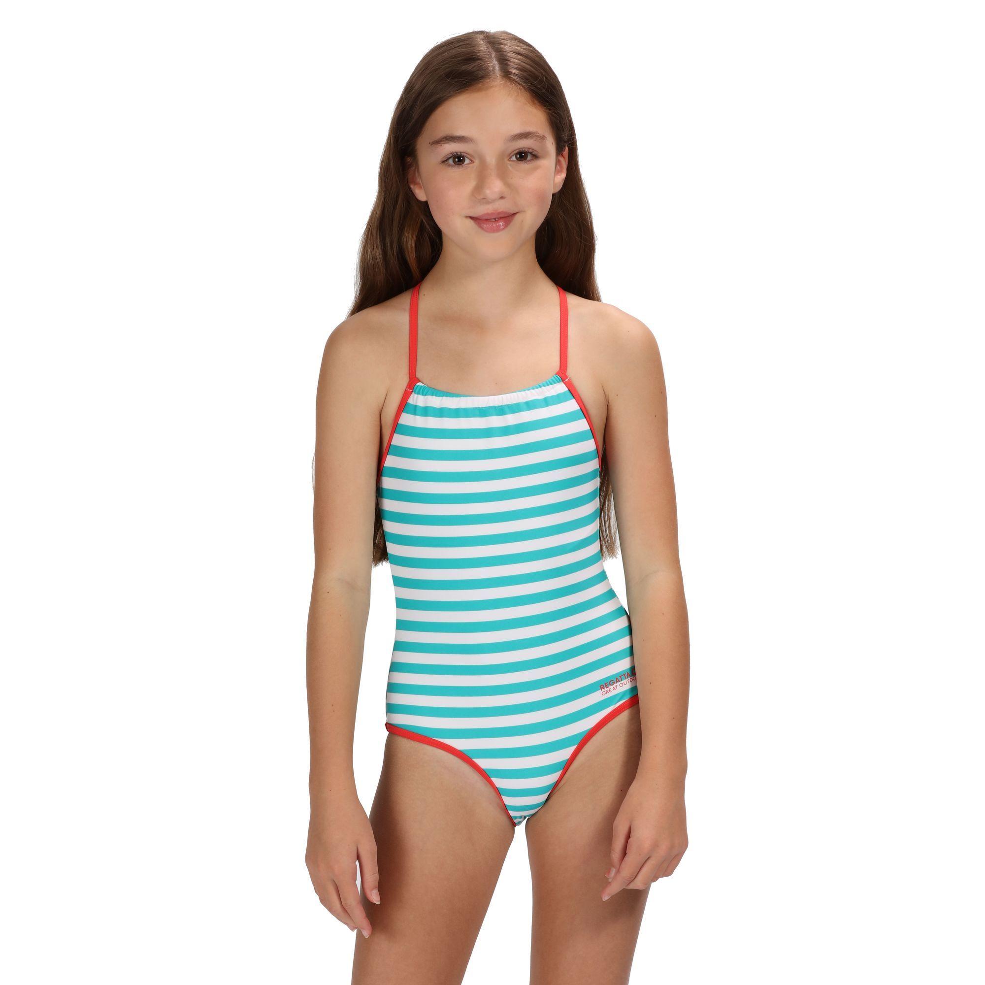 Regatta Great Outdoors Childrens Girls Takisha Swimming Costume