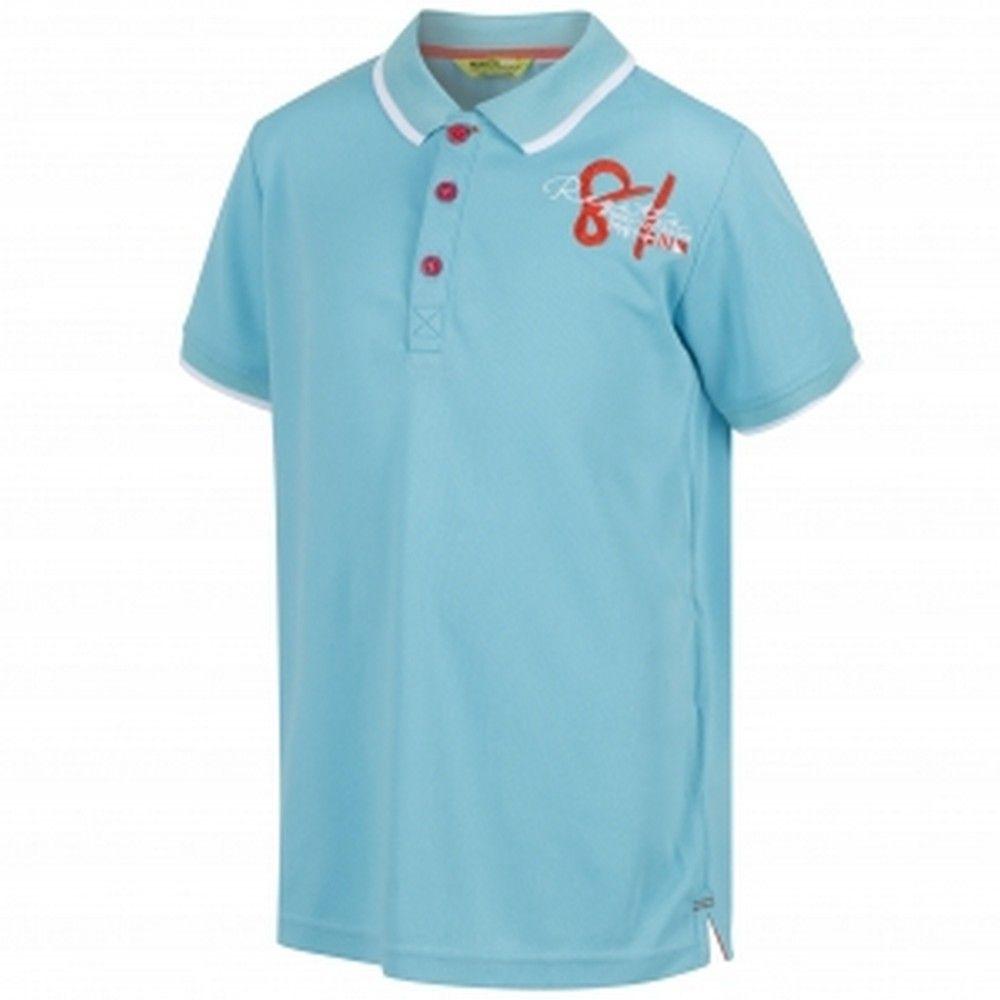 Regatta Great Outdoors Childrens/Kids Talor Quick Dry Polo Shirt