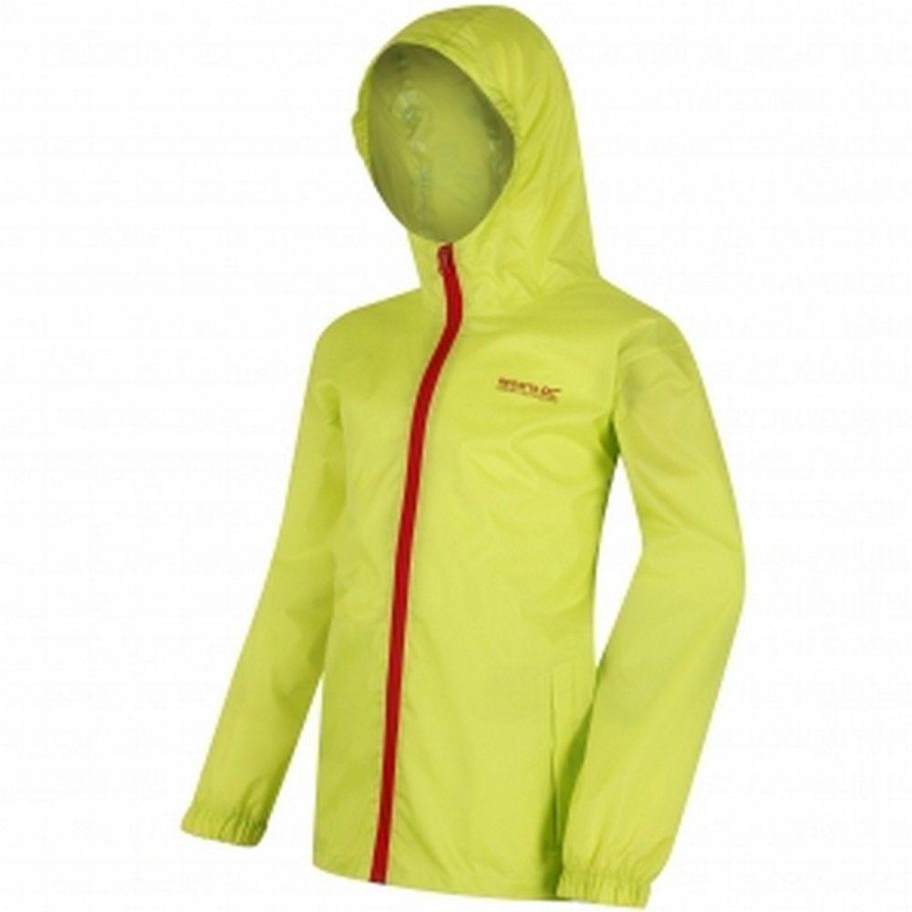 Regatta Great Outdoors Childrens/Kids Pack It Jacket III Waterproof Packaway Black
