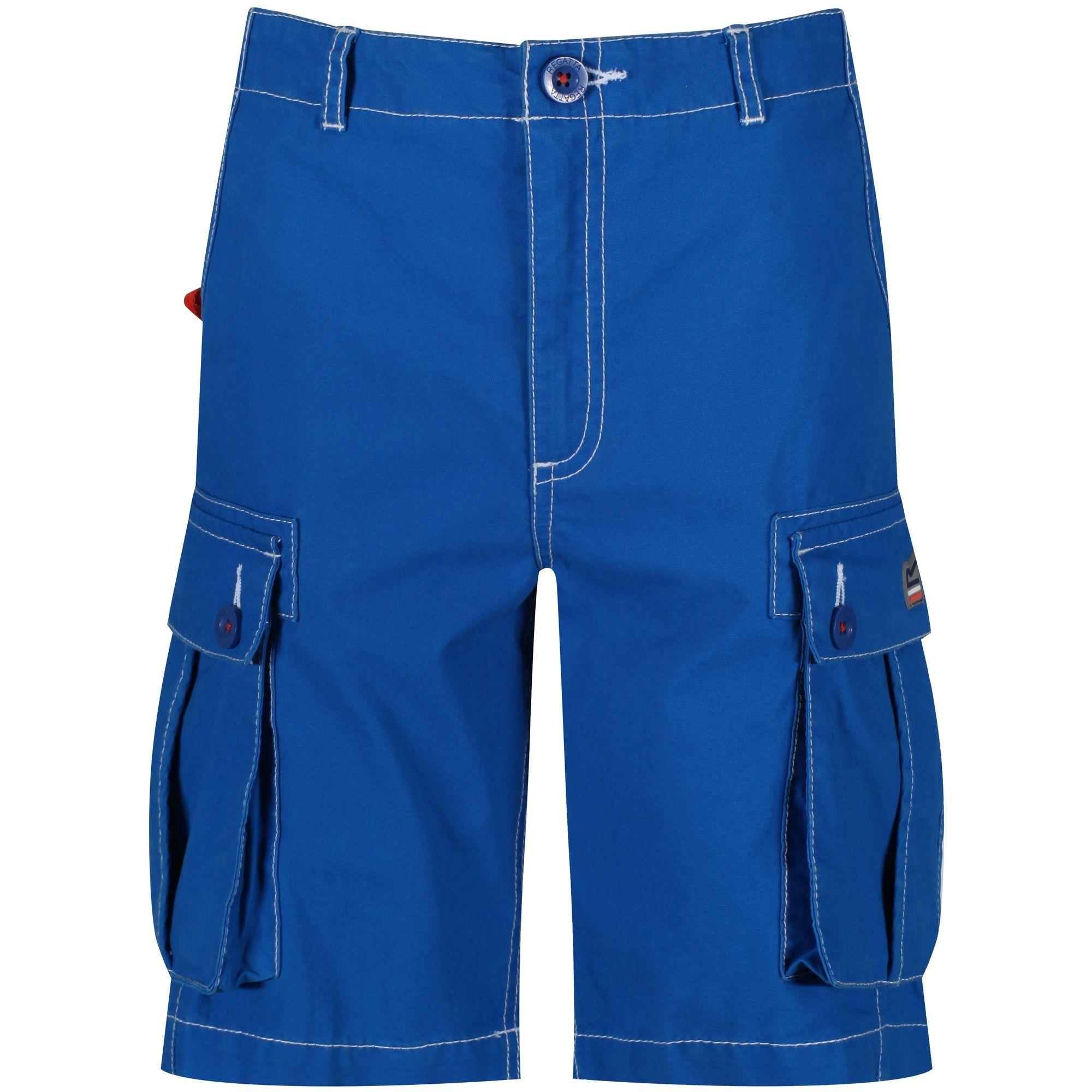 Regatta Childrens/Kids Shorefire Coolweave Cotton Canvas Shorts