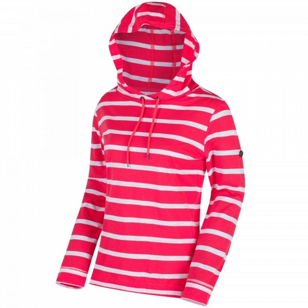 Regatta Womens/Ladies Modesta Hooded Coolweave Cotton Top