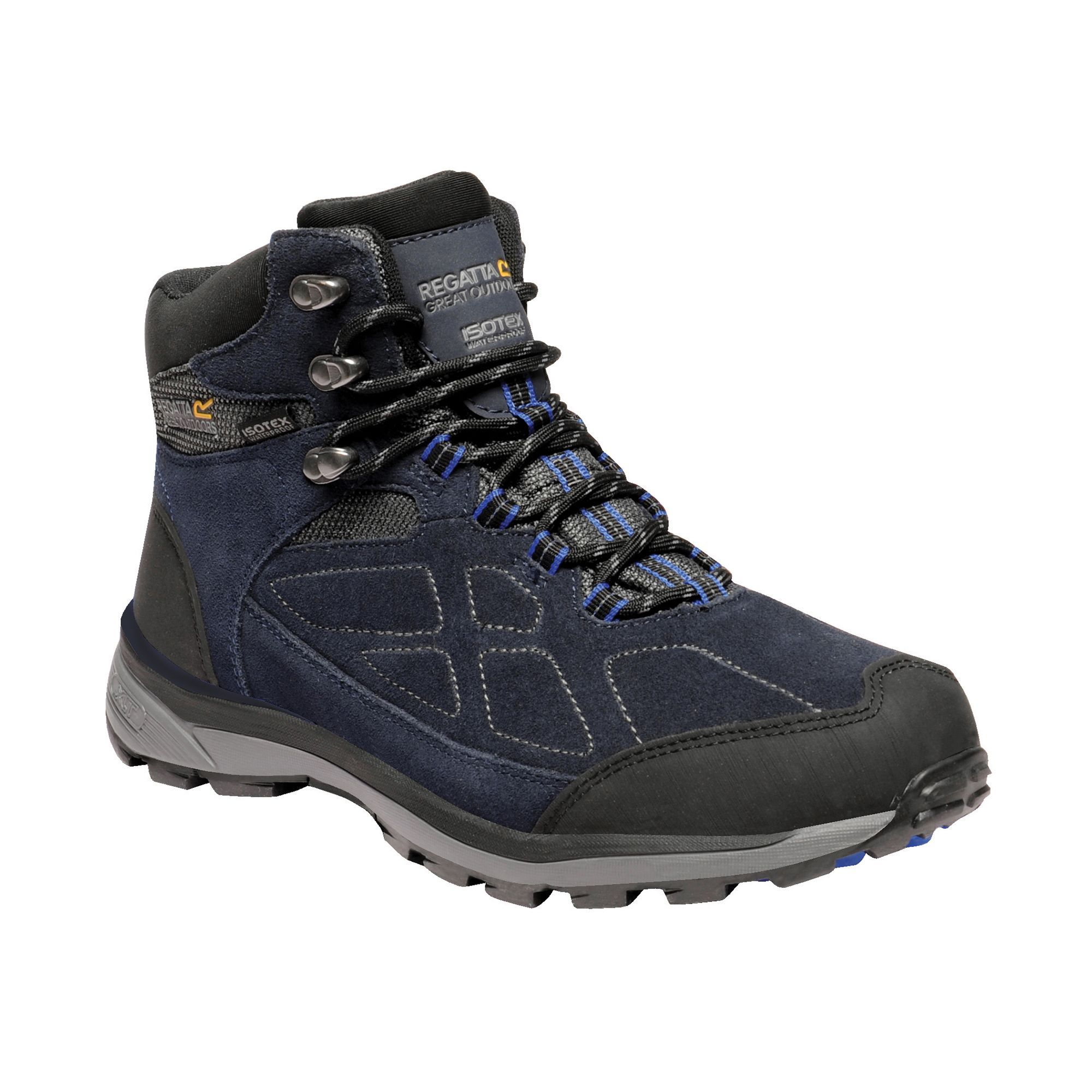 Regatta Mens Samaris Suede Hiking Boots