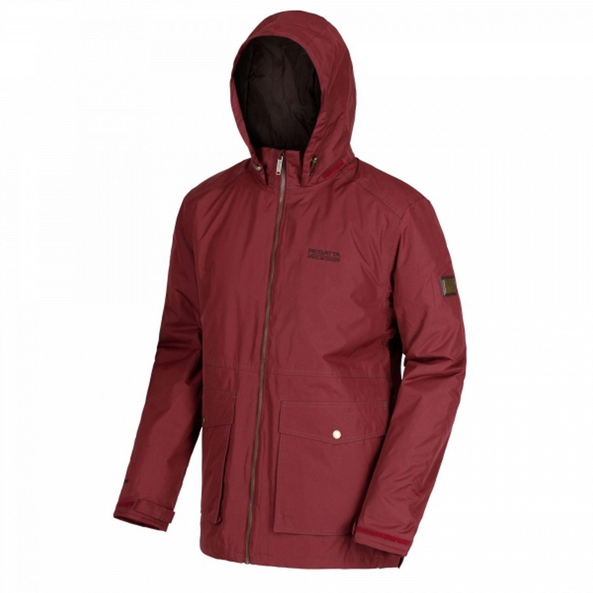 Regatta Mens Hebson Hooded Jacket