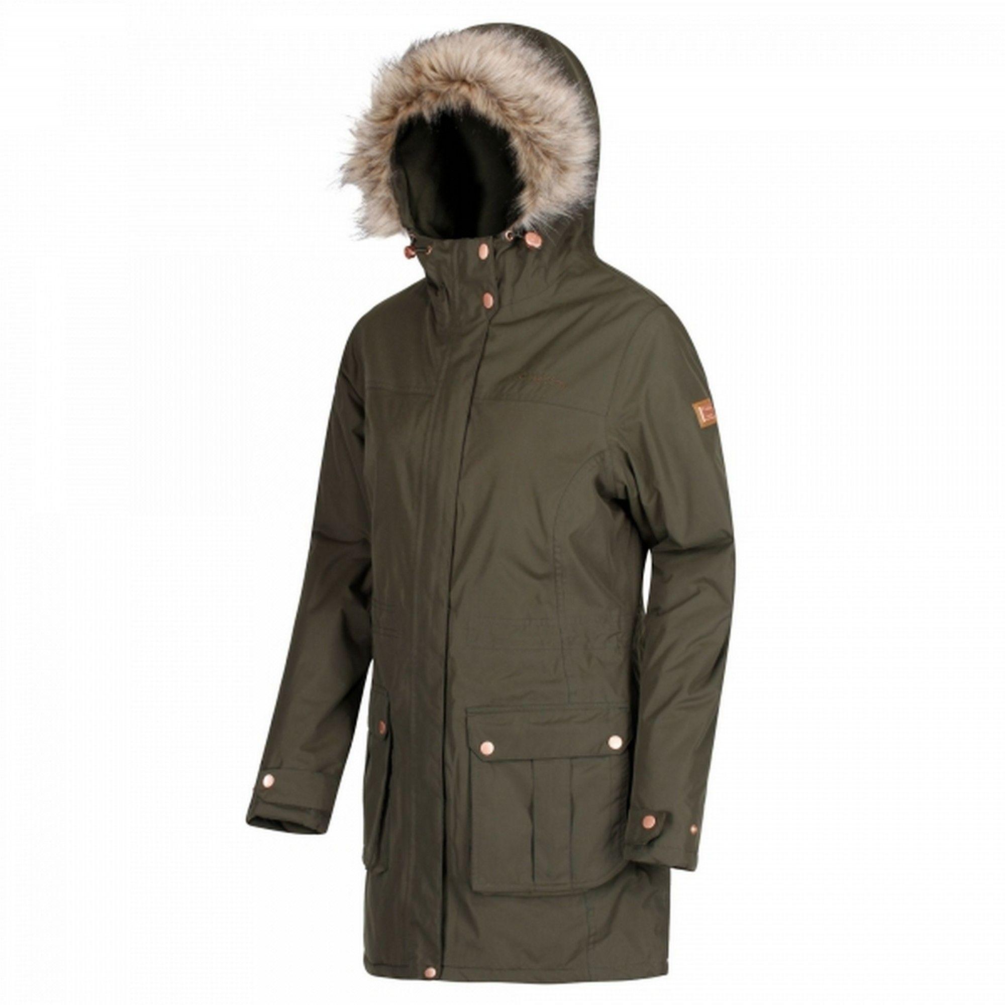 Regatta Womens/Ladies Sherlyn Full Length Hooded Jacket