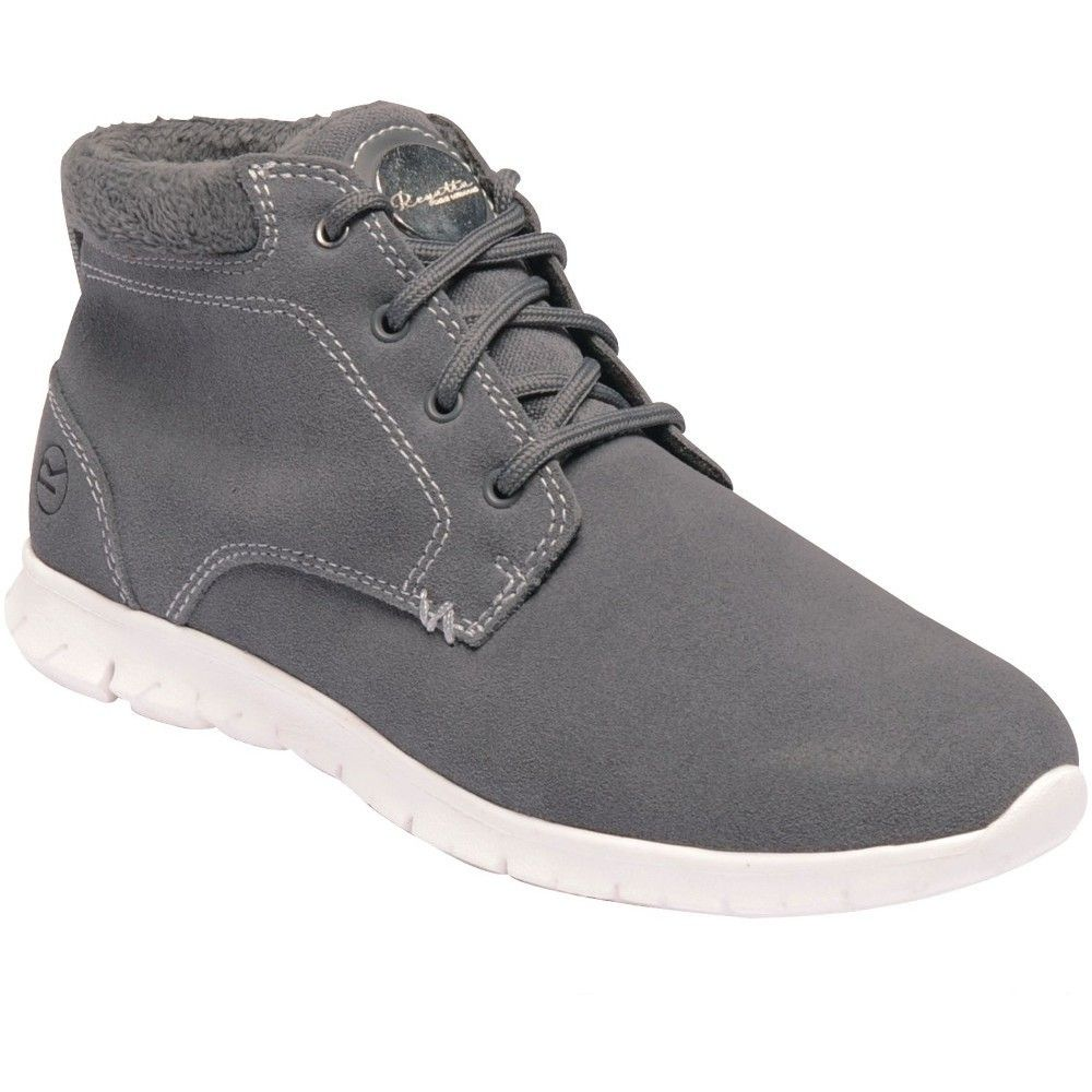 Regatta Womens/Ladies Ly Marine Mid Suede Leather Light Ankle Boots