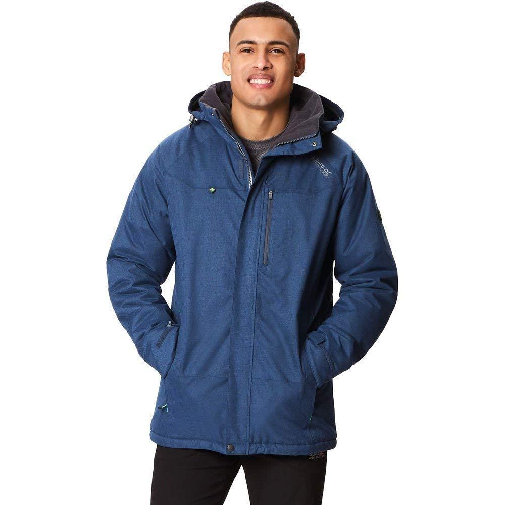 Regatta Great Outdoors Mens Highside III Breathable Insulated Waterproof Jacket