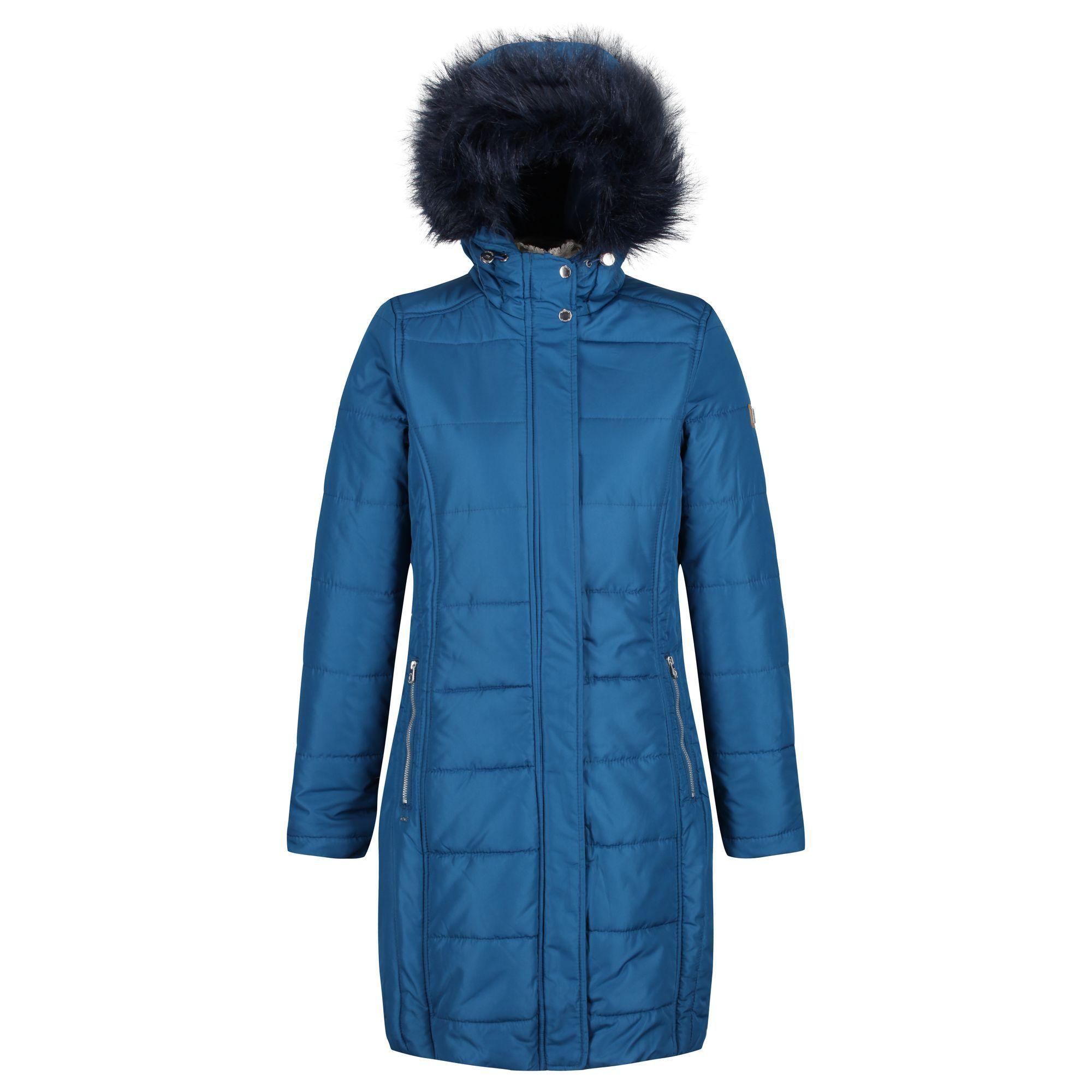 Regatta Womens/Ladies Fermina II Quilted Hooded Parka Jacket