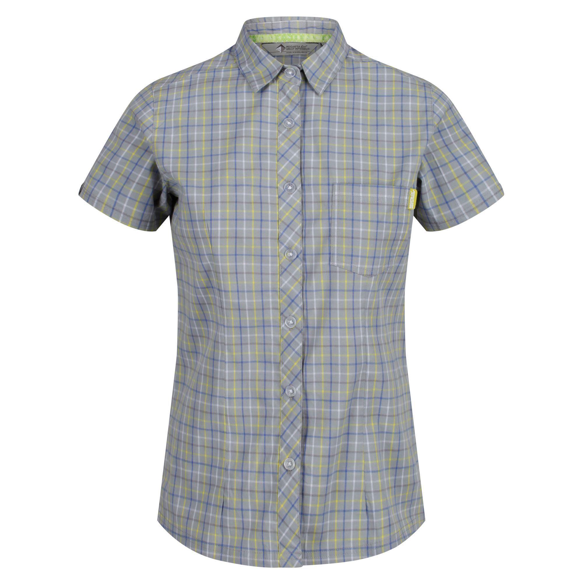 Regatta Womens/Ladies Honshu III Short Sleeve Check Shirt