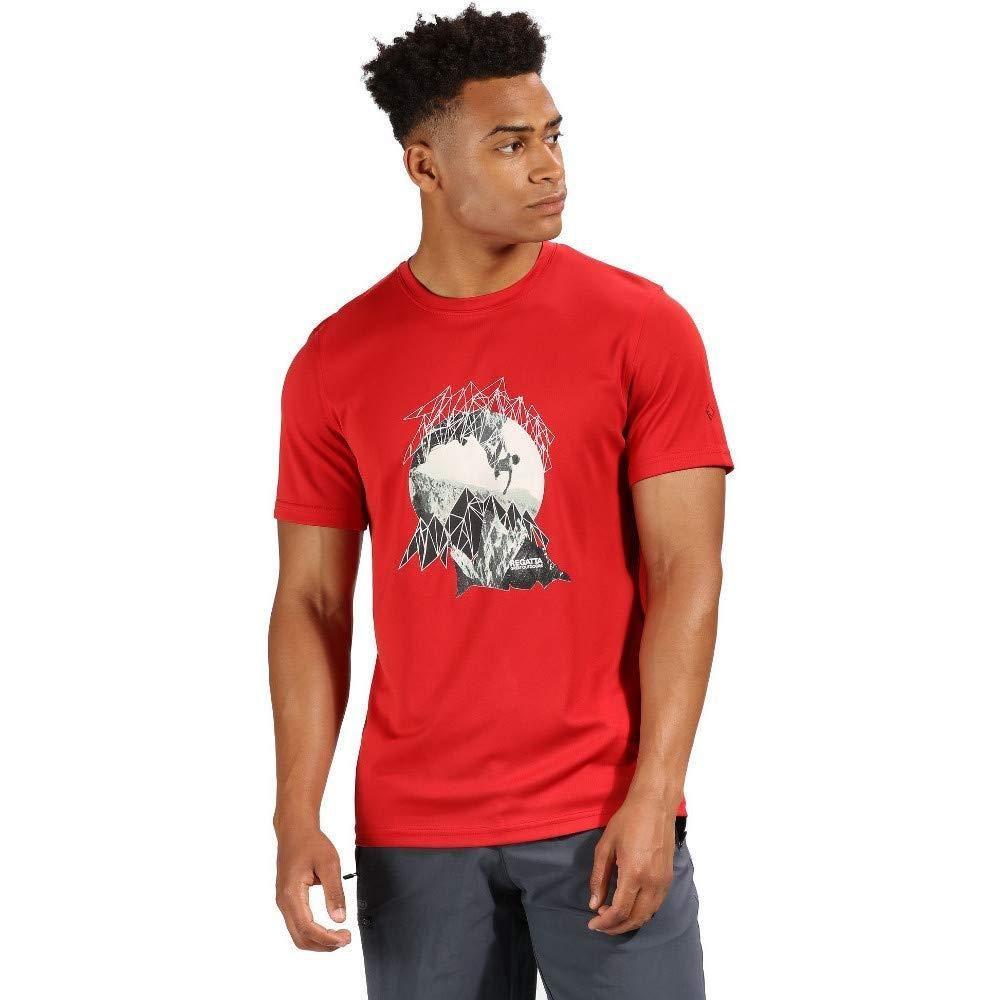 Regatta Mens Fingal IV Graphic Print T-Shirt