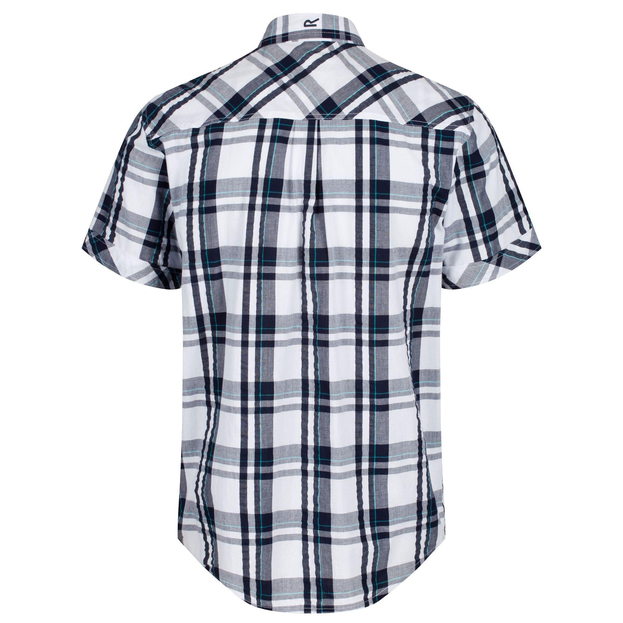 Regatta Mens Deakin III Short Sleeve Checked Shirt