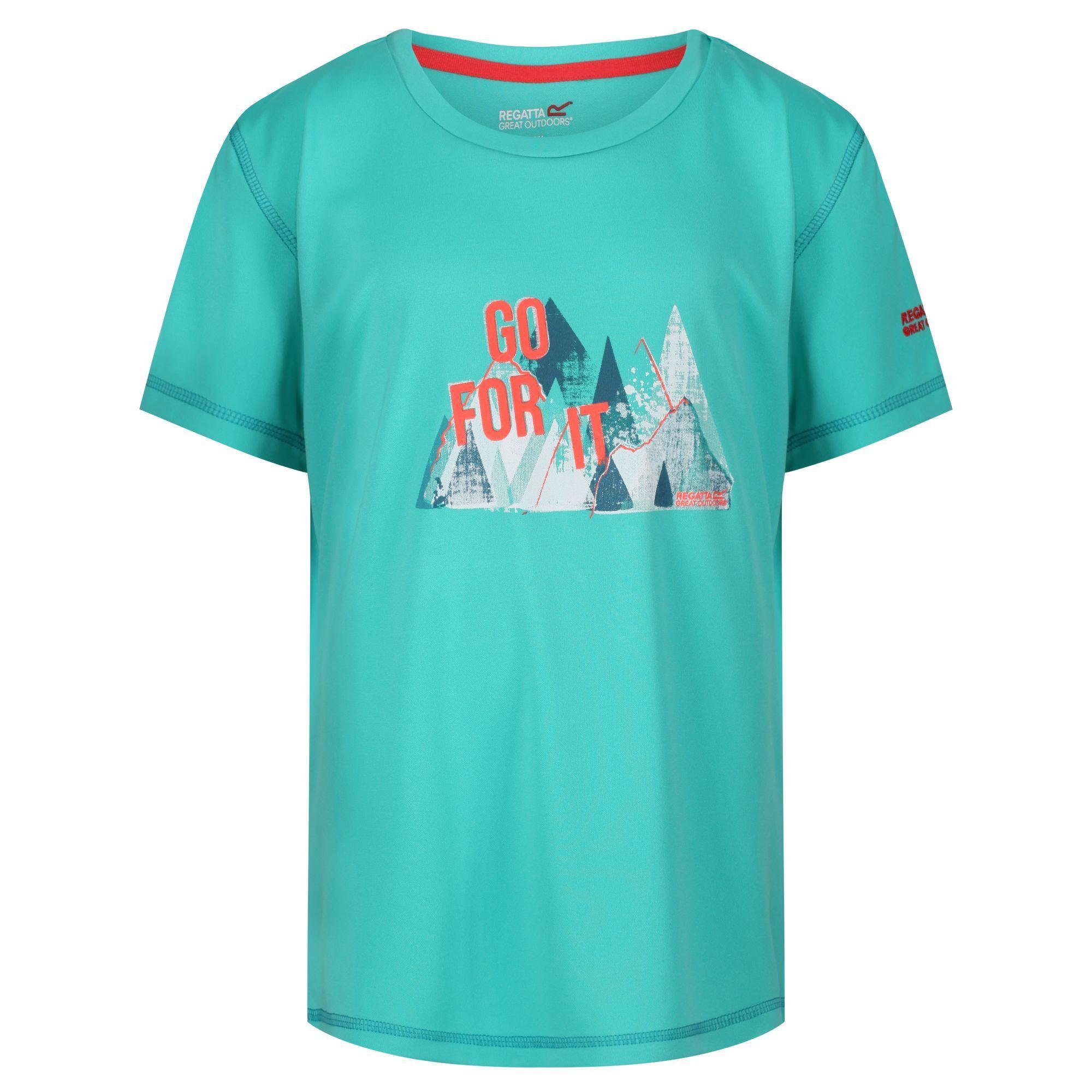 Regatta Childrens/Kids Alvarado IV Graphic Print T-Shirt