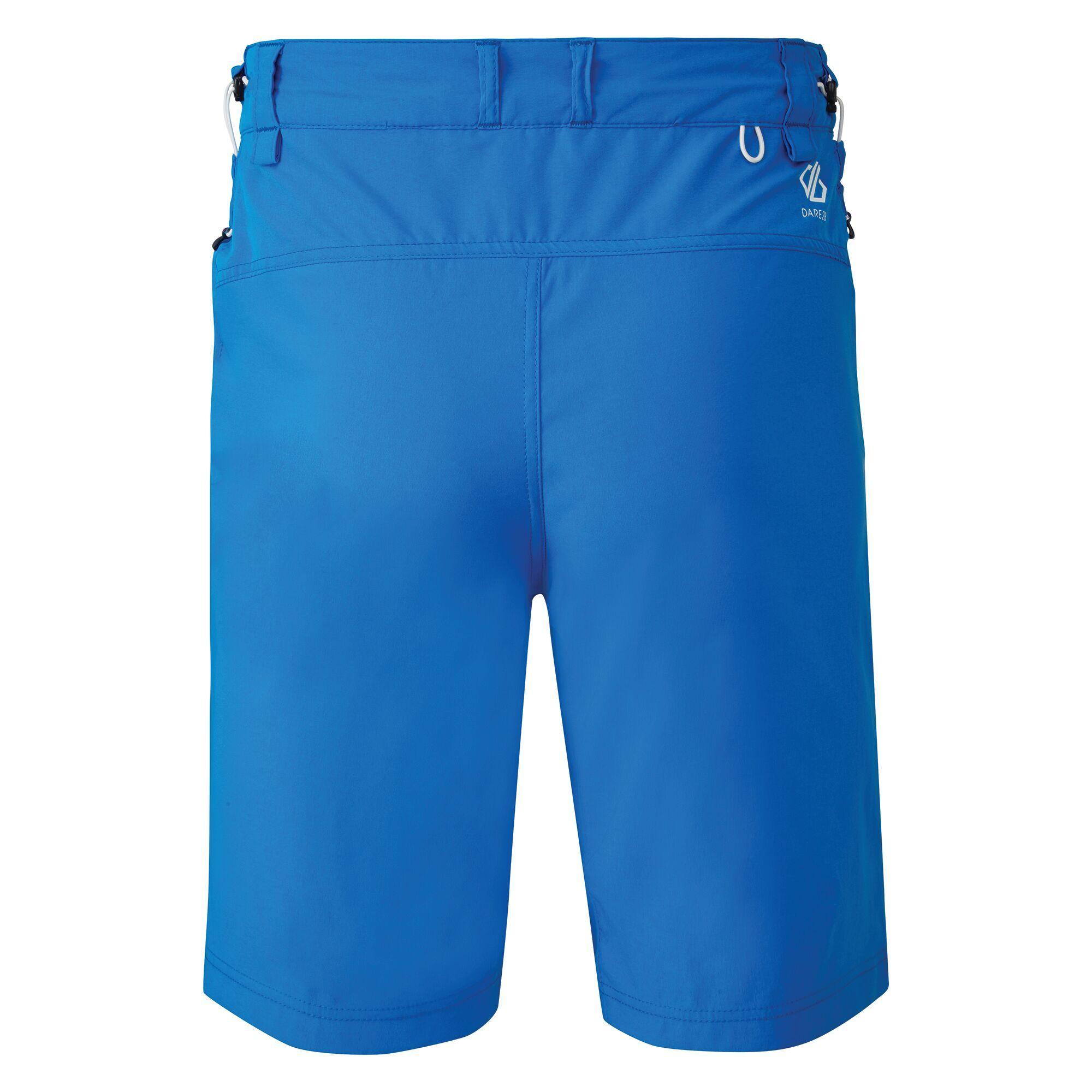 Dare 2B Mens Tuned In II Multi Pocket Walking Shorts (Athletic Blue)