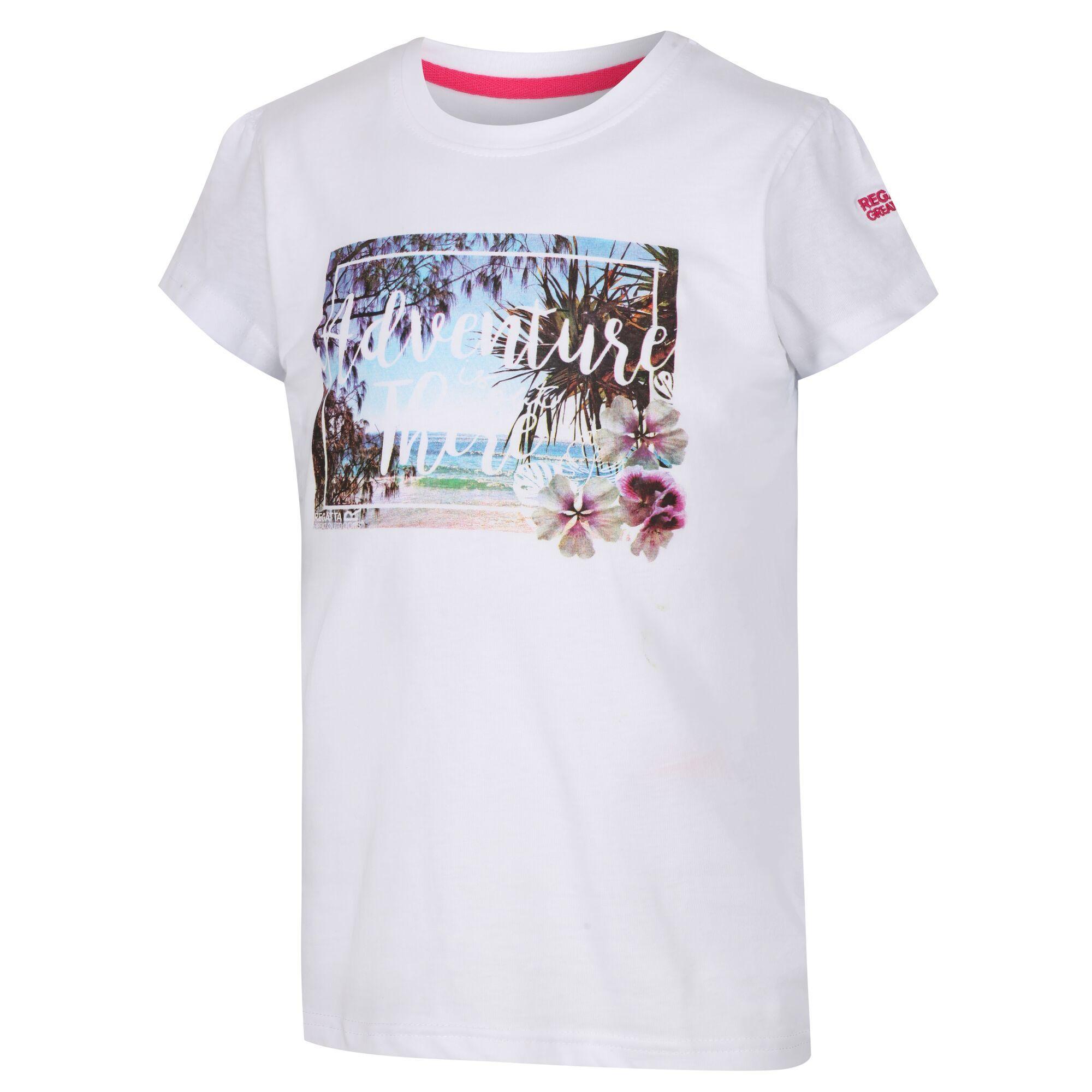Regatta Childrens/Kids Bosley II Graphic Print T-Shirt