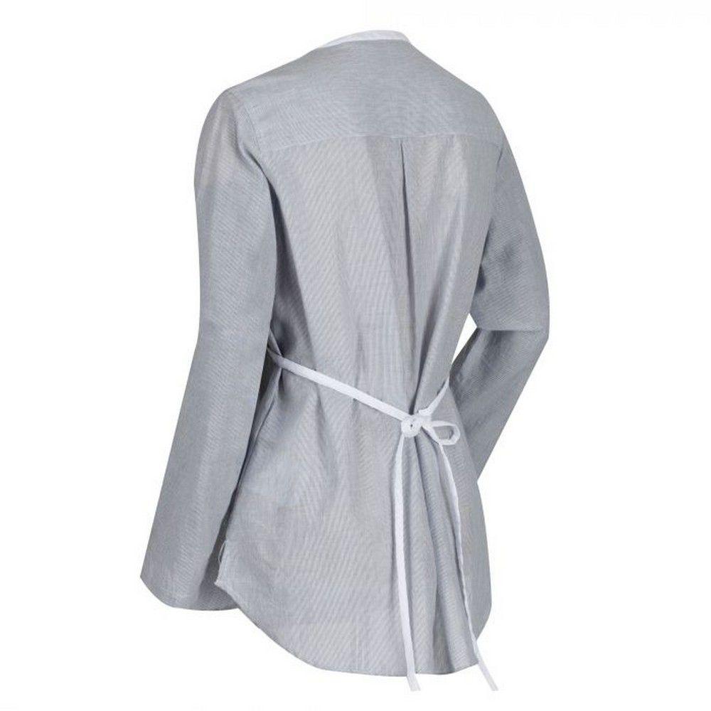 Regatta Womens/Ladies Maladee Long Sleeve Belted Shirt