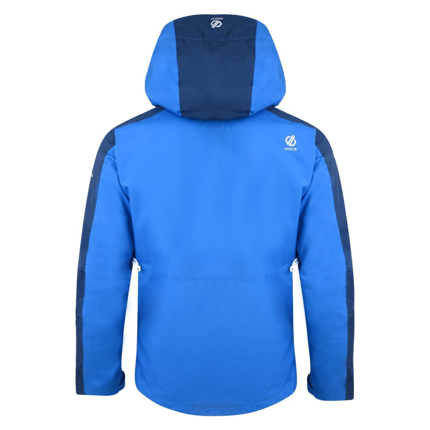 Dare 2B Mens Diluent Lightweight Waterproof Jacket With Detachable Hood