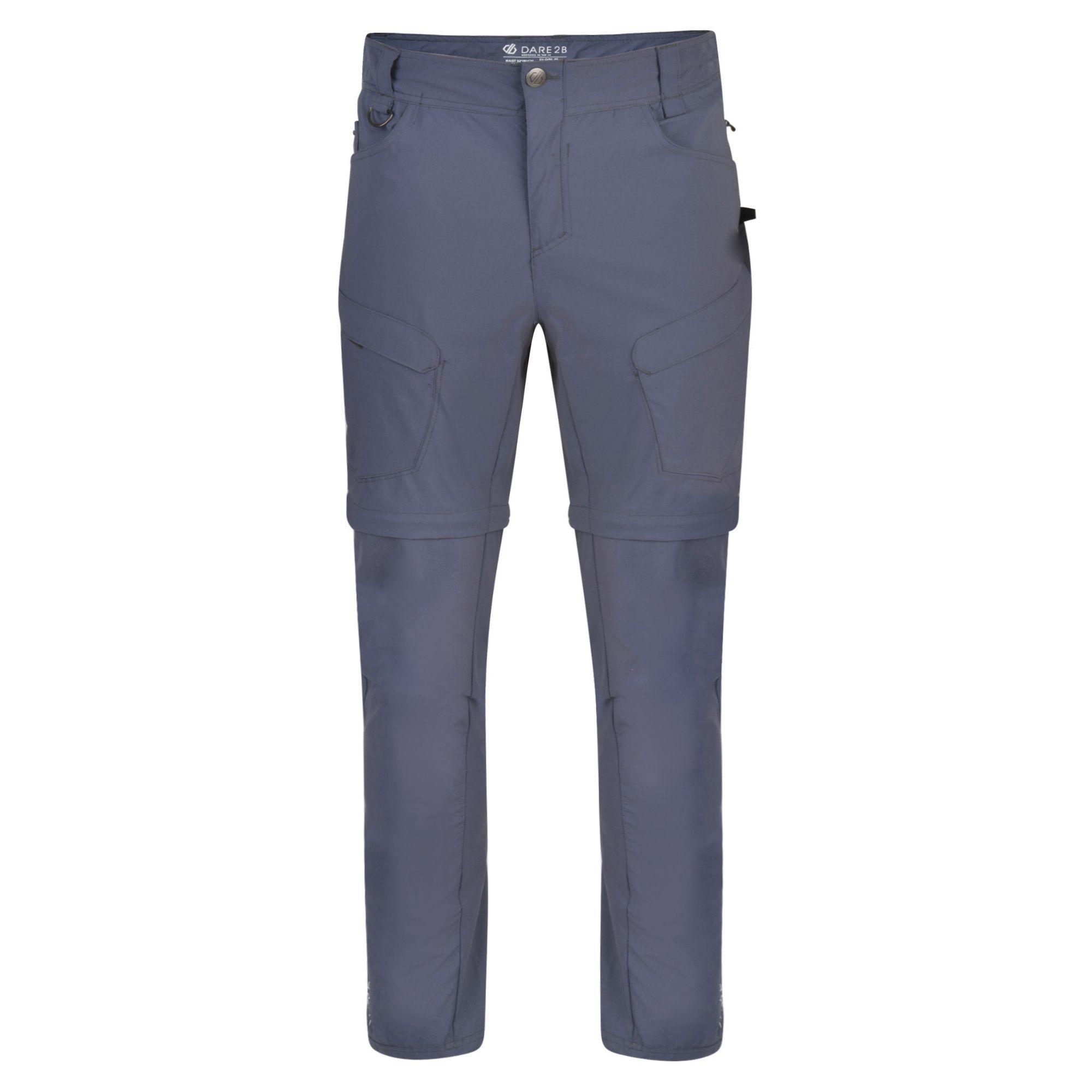 Dare 2B Mens Tuned In II Multi Pocket Zip Off Walking Trousers
