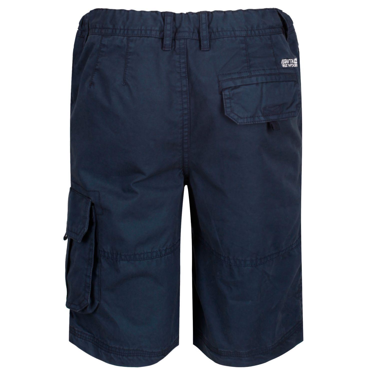 Regatta Kids Shorewalk Multi Pocket Shorts (Navy)