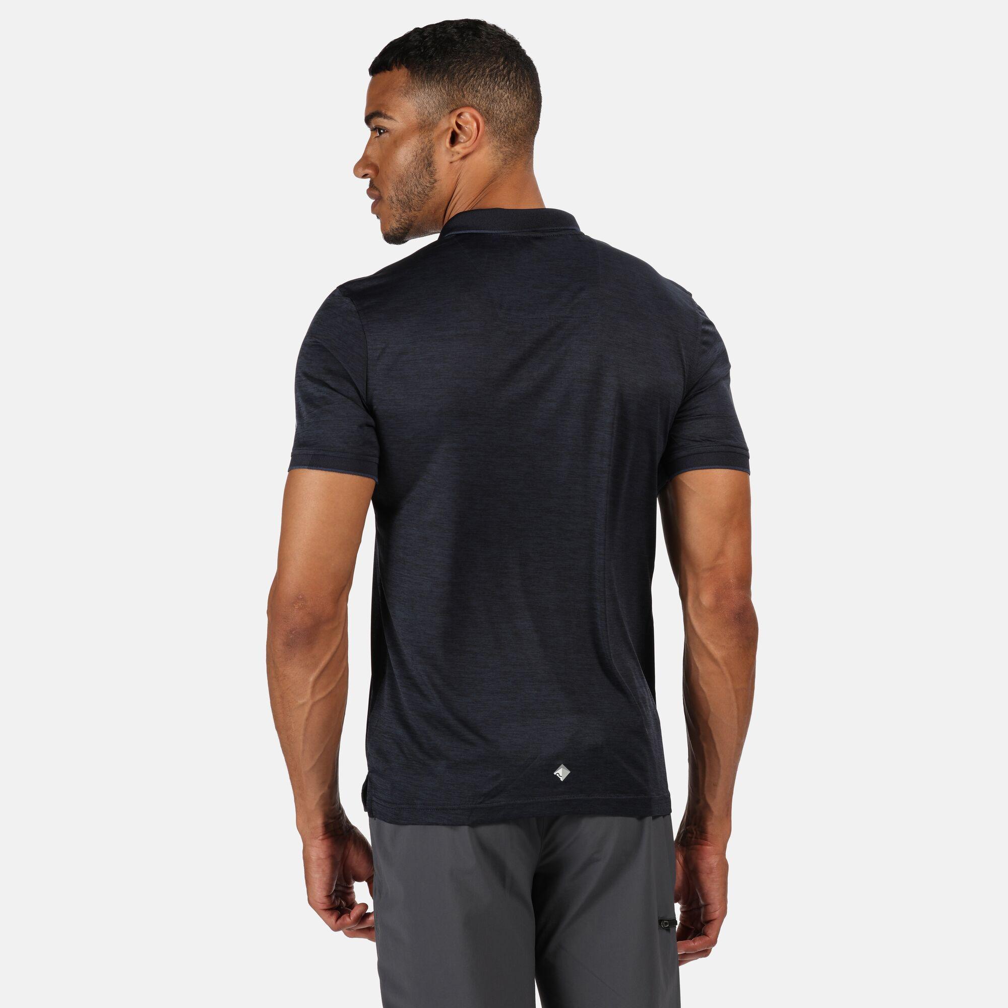 Regatta Mens Remex II Polo Shirt (Navy)