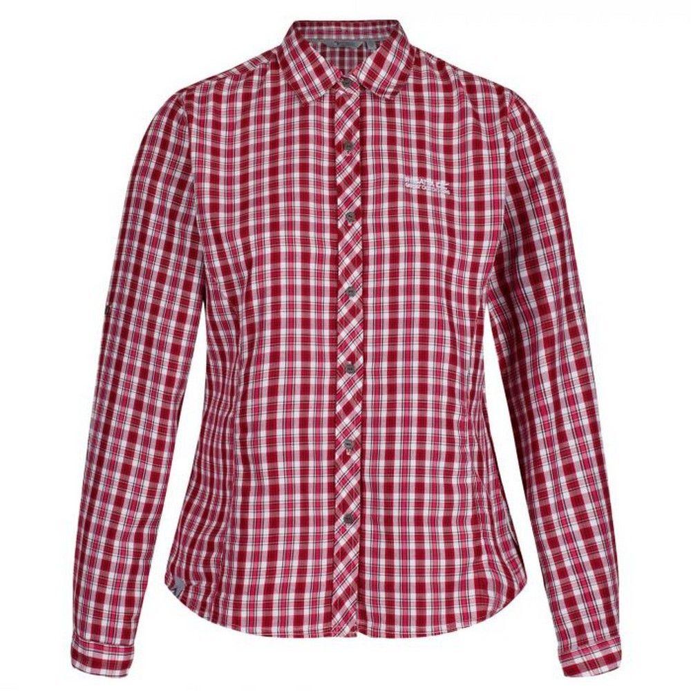 Regatta Womens/Ladies Nimis Long Sleeved Check Patterned Shirt