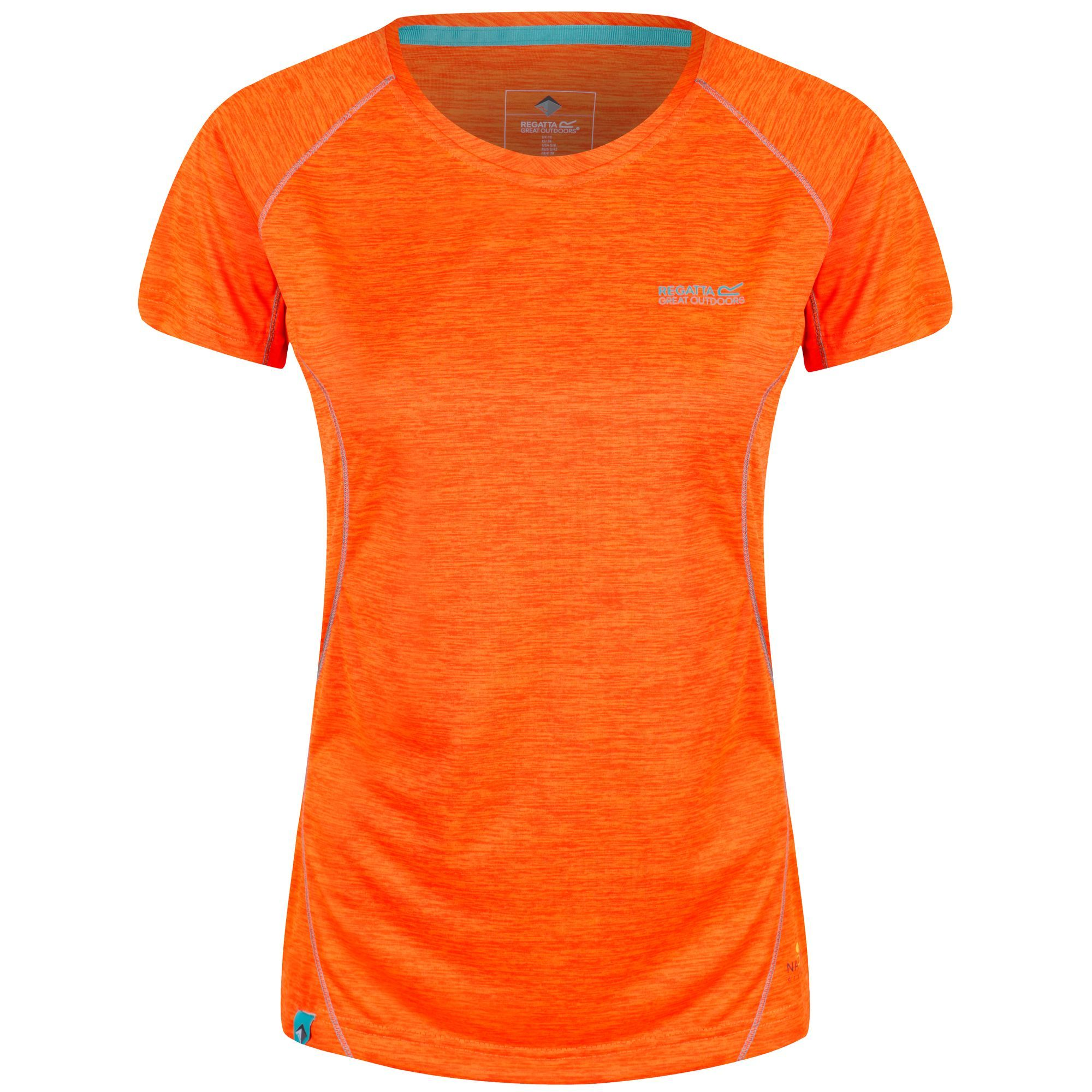 Regatta Womens Deserta Moisture Wicking T-Shirt