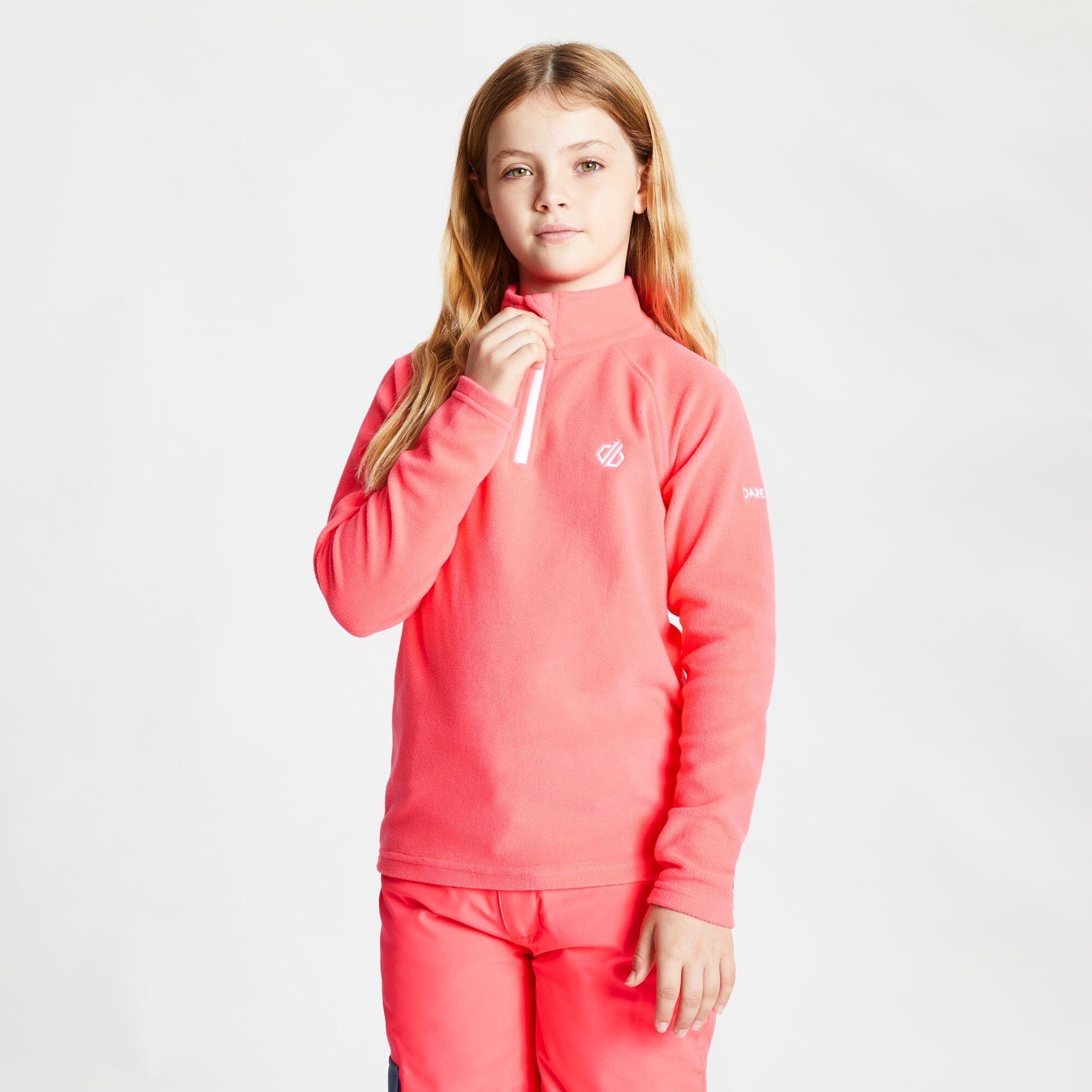 Dare 2b Childrens/Kids Freehand Fleece (Neon Pink)