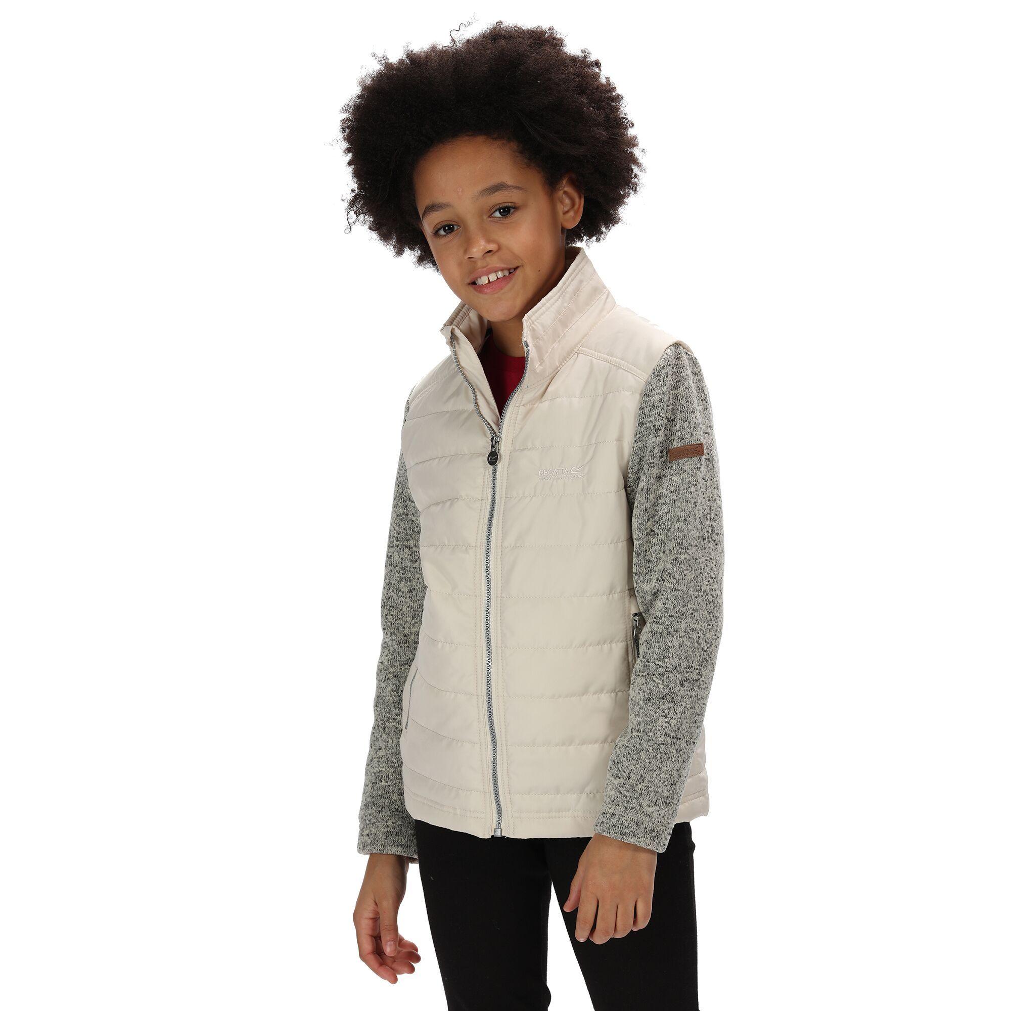 Regatta Childrens/Kids Kenya Padded Jacket With Fleece Sleeves