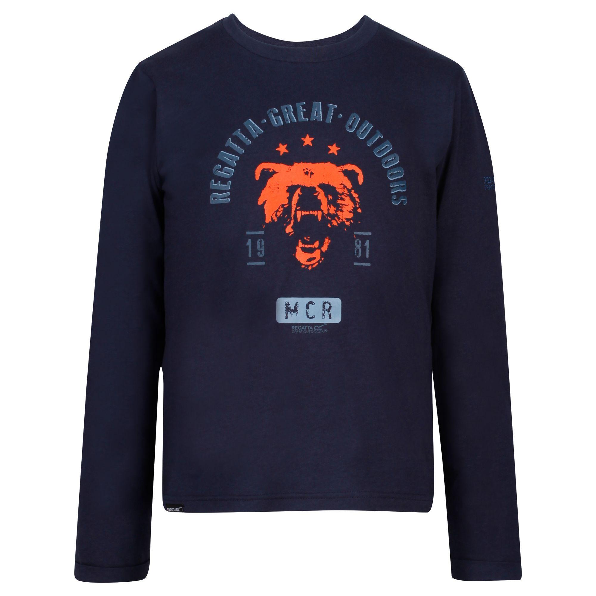 Regatta Childrens/Kids Wendell Cosmic Print Sweatshirt