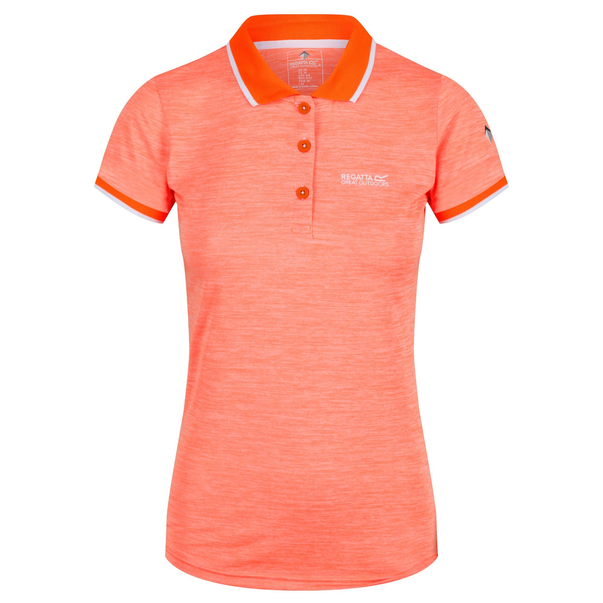 Regatta Womens/Ladies Remex II Polo Neck T-Shirt