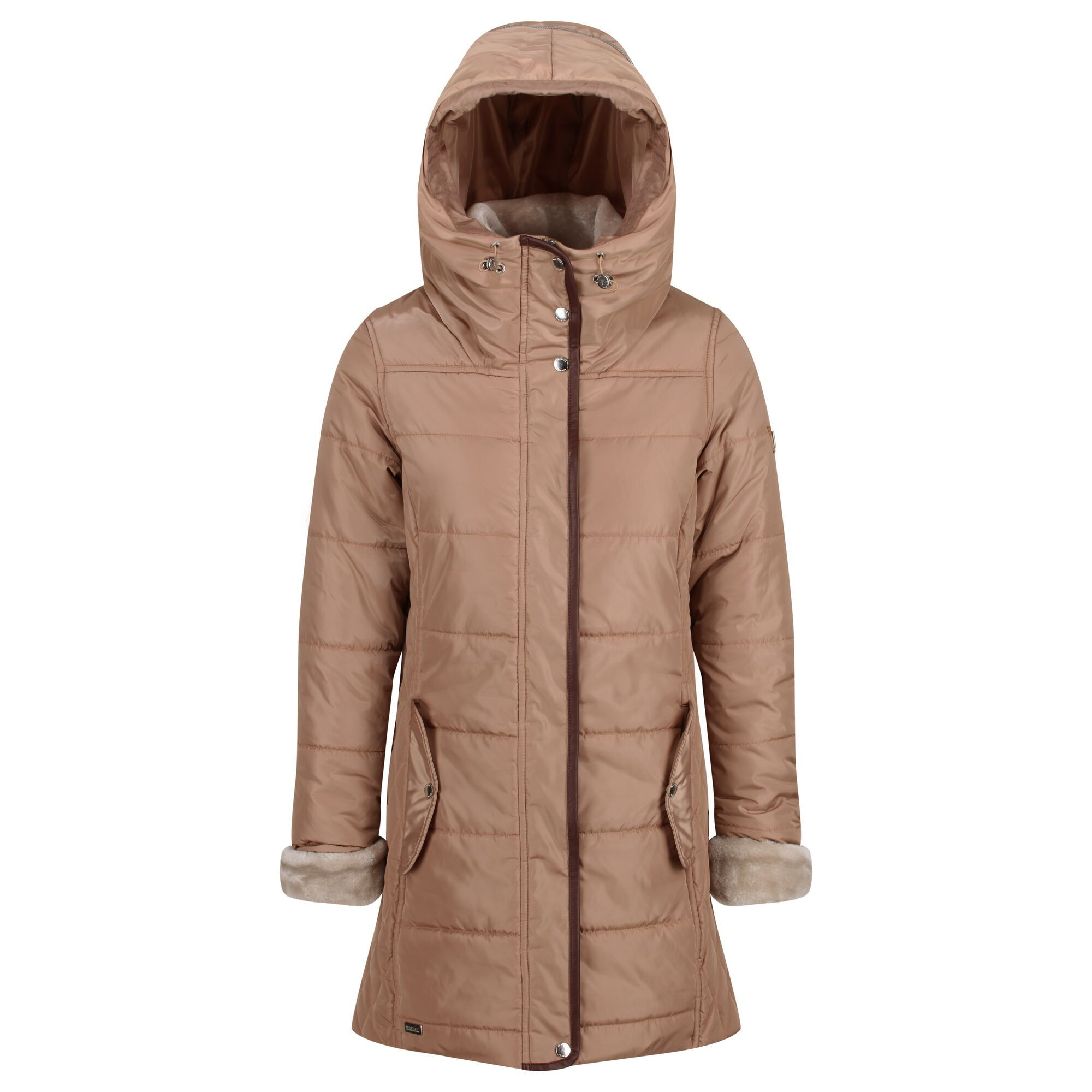 Regatta Womens/Ladies Patchouli Quilted Long Length Jacket