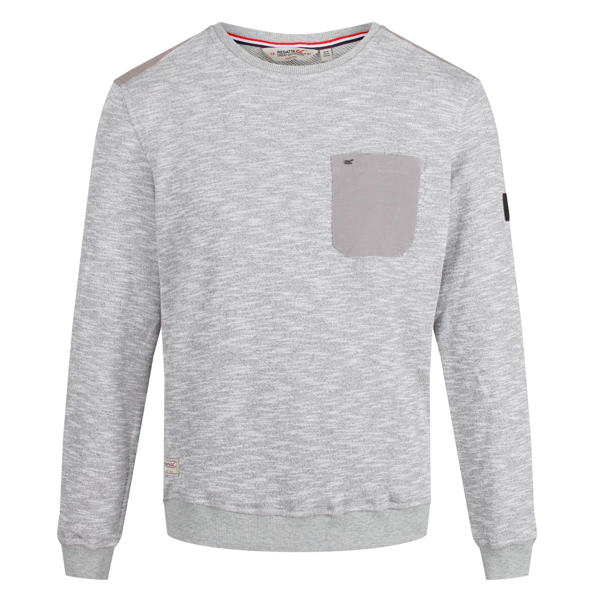Regatta Mens Sandor Chest Pocket Sweatshirt