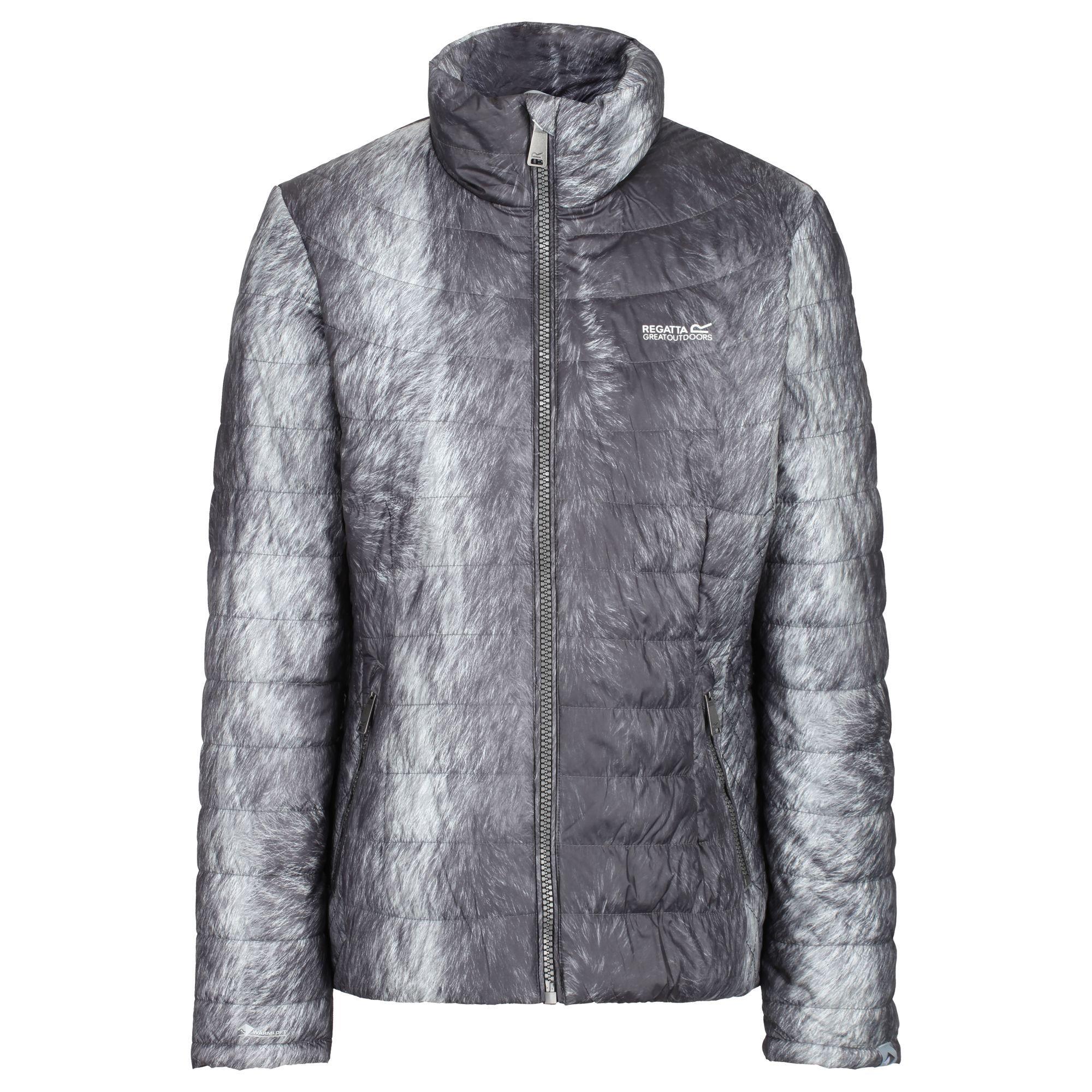 Regatta Womens/Ladies Metallia II Metallic Quilted Jacket