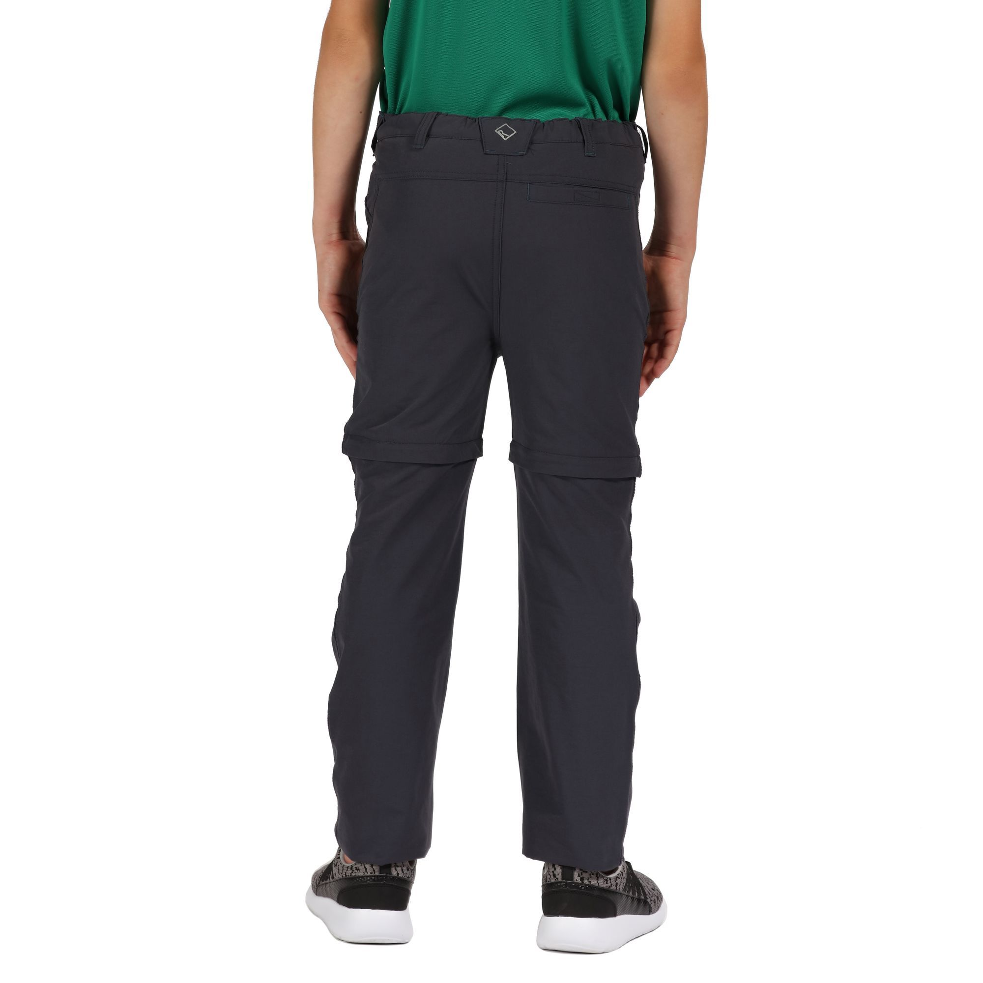 Regatta Childrens/Kids Hikefell Stretch Zip Off Trousers