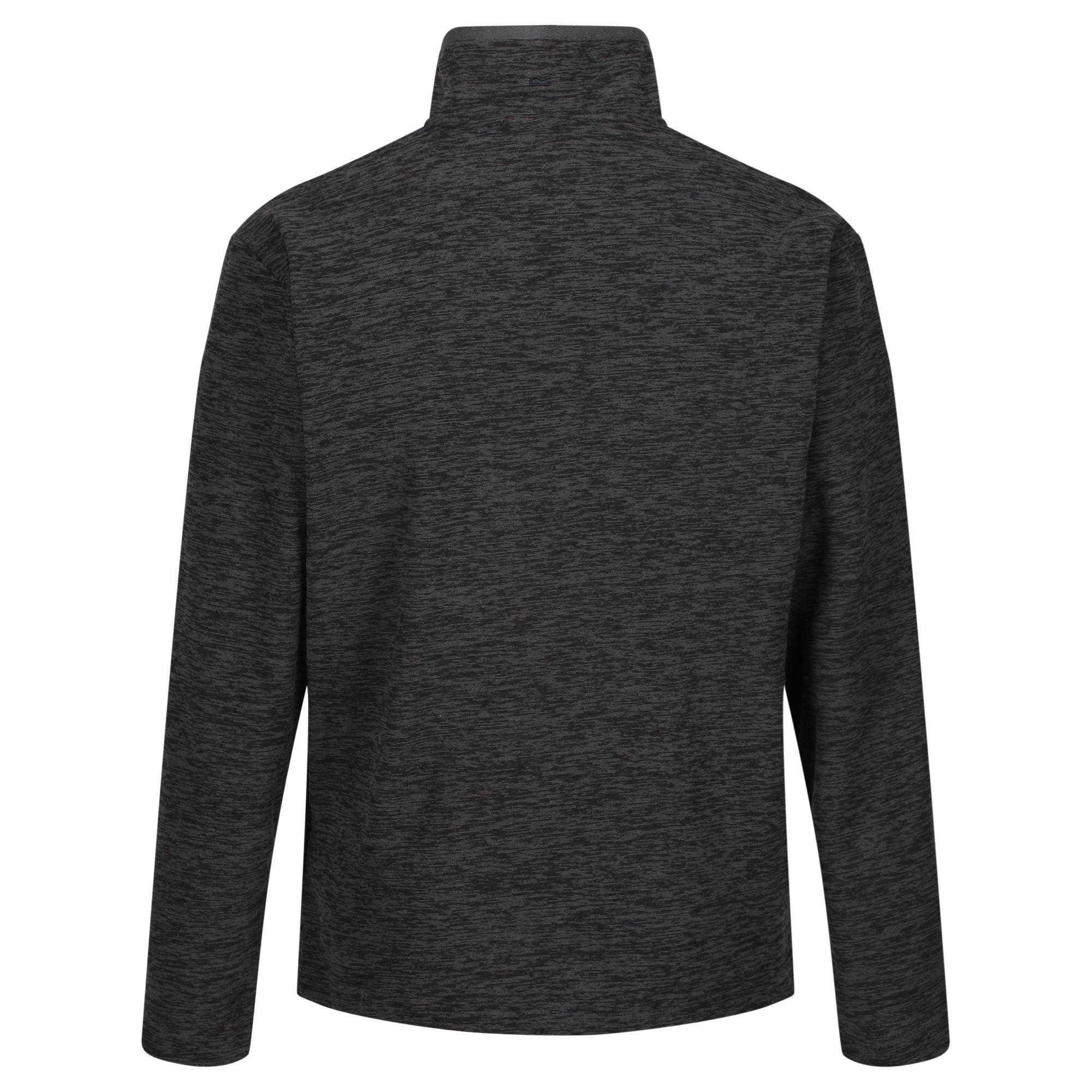 Regatta Mens Earvin Full Zip Broken Stripe Fleece