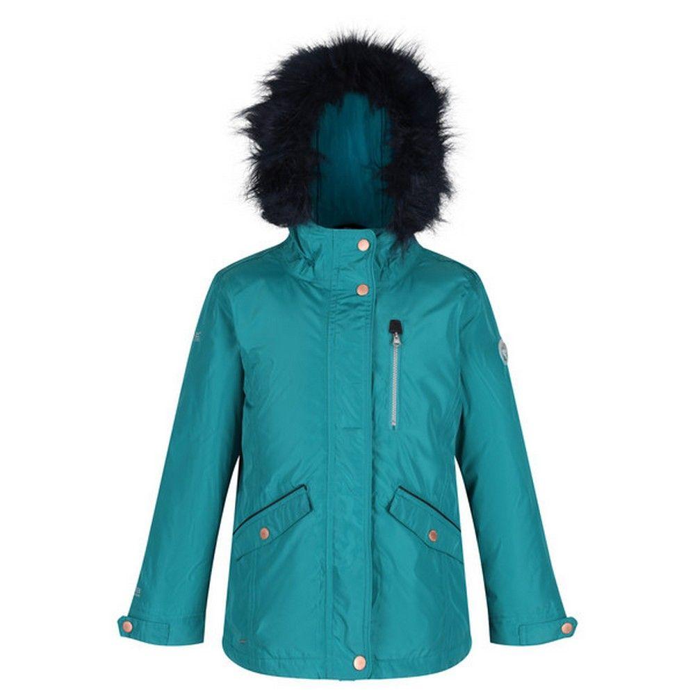 Dare 2B Childrens/Kids Palomina Waterproof Insulated Fur Trimmed Jacket