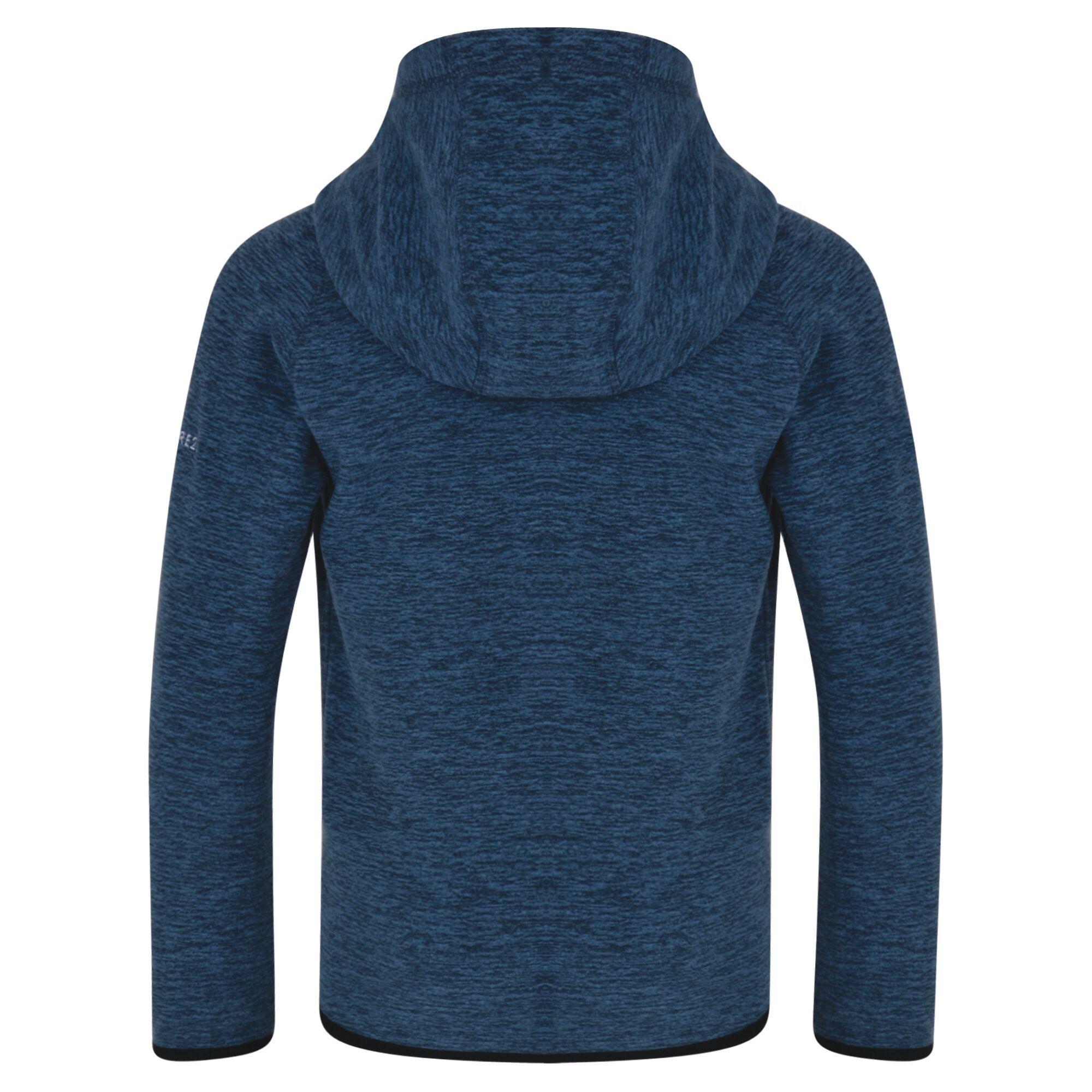 Dare 2B Childrens/Kids Enlist Full Zip Lightweight Hooded Fleece