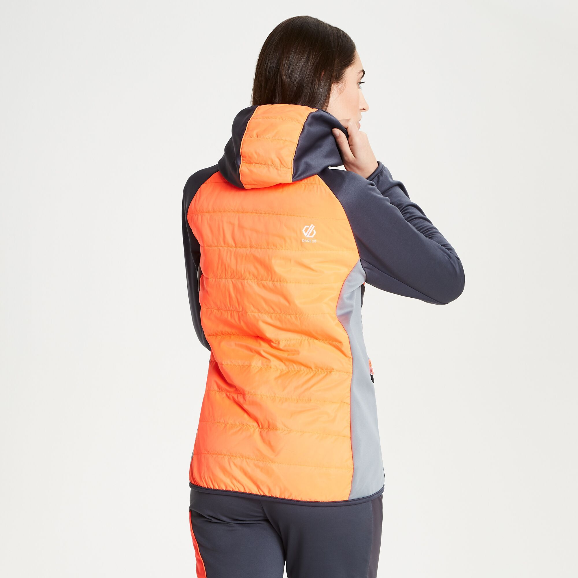 Dare2b Womens/Ladies Nominate Wool Hybrid Hooded Jacket